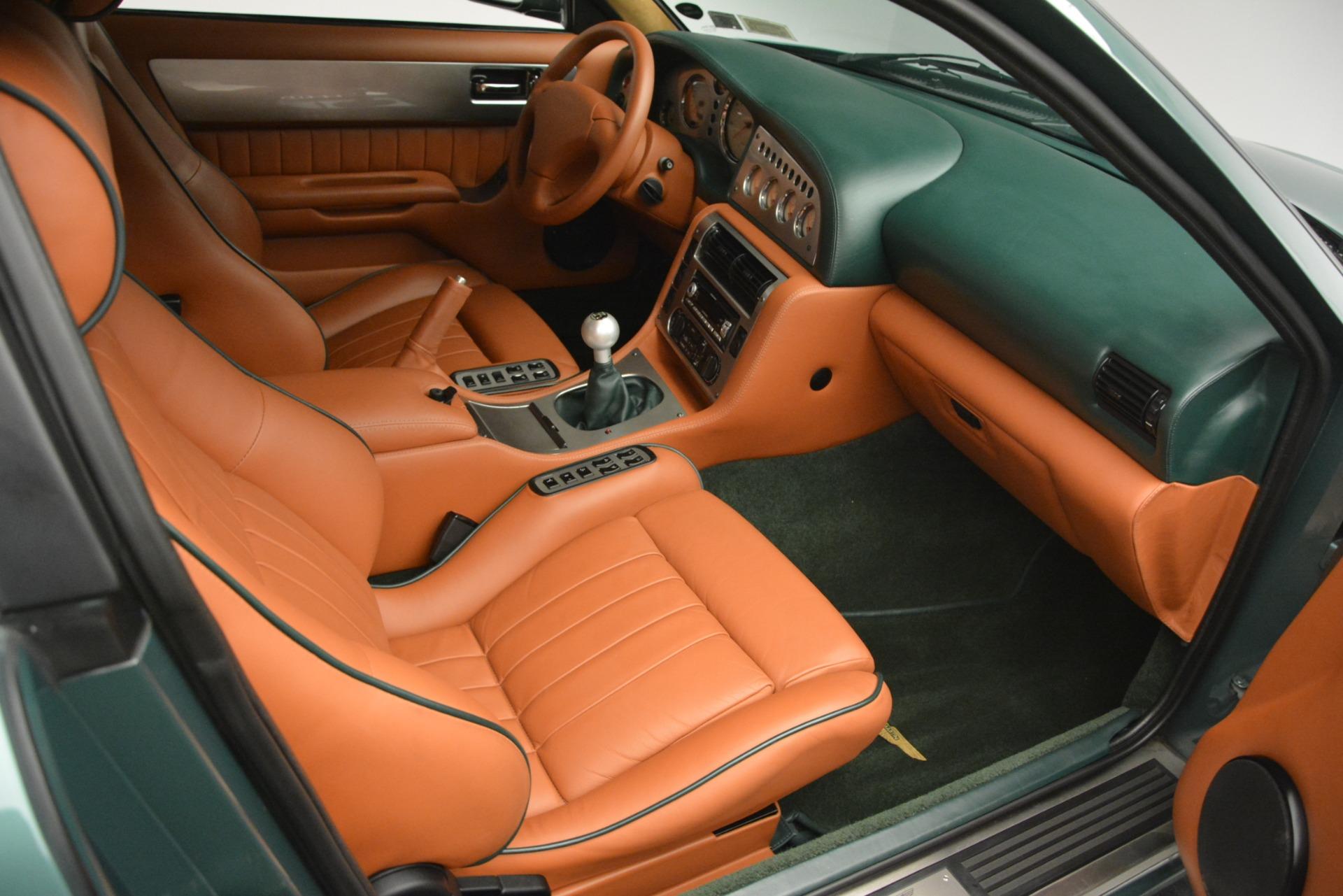 Used 1999 Aston Martin V8 Vantage Le Mans V600 Coupe For Sale In Greenwich, CT. Alfa Romeo of Greenwich, 7449C 2789_p25