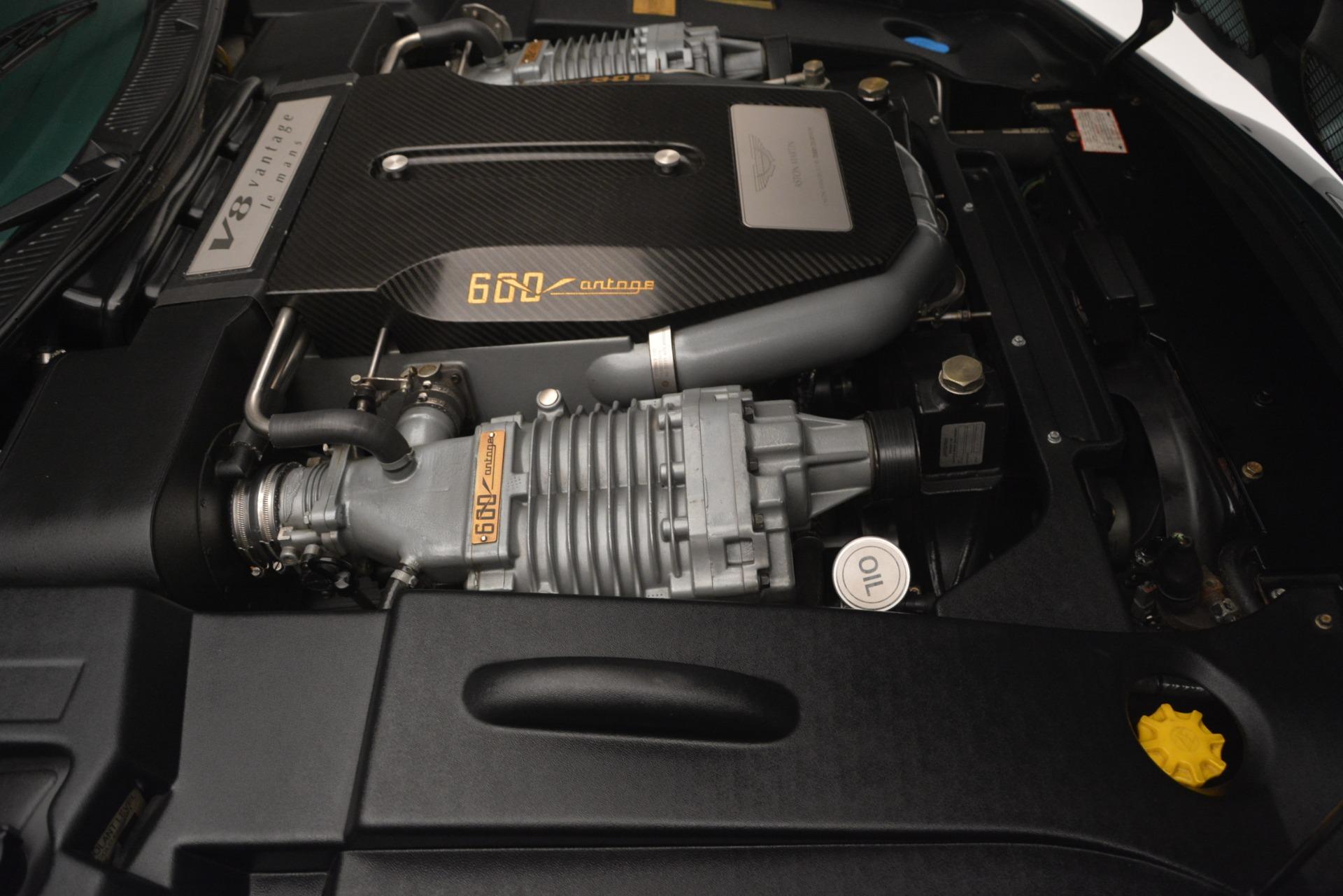 Used 1999 Aston Martin V8 Vantage Le Mans V600 Coupe For Sale In Greenwich, CT. Alfa Romeo of Greenwich, 7449C 2789_p32