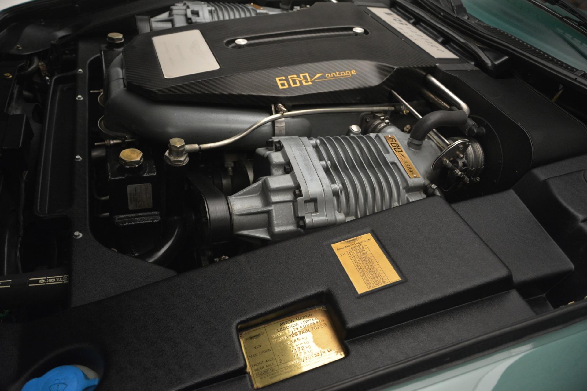 Used 1999 Aston Martin V8 Vantage Le Mans V600 Coupe For Sale In Greenwich, CT. Alfa Romeo of Greenwich, 7449C 2789_p35