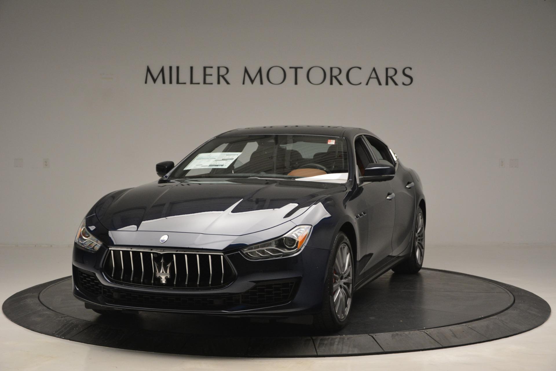 New 2019 Maserati Ghibli S Q4 For Sale In Greenwich, CT. Alfa Romeo of Greenwich, M2243 2796_main