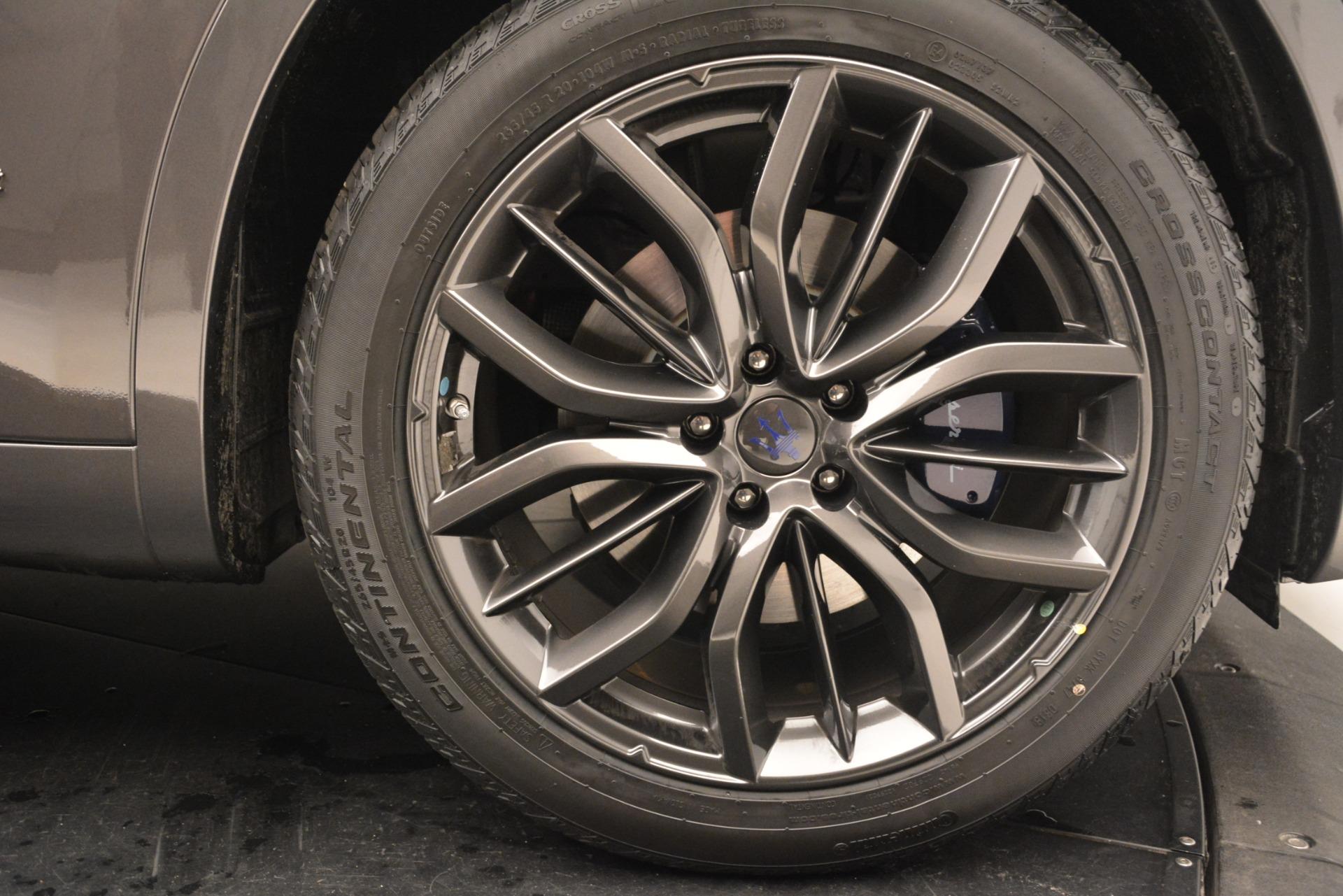 New 2019 Maserati Levante Q4 GranSport For Sale In Greenwich, CT. Alfa Romeo of Greenwich, M2246 2806_p36