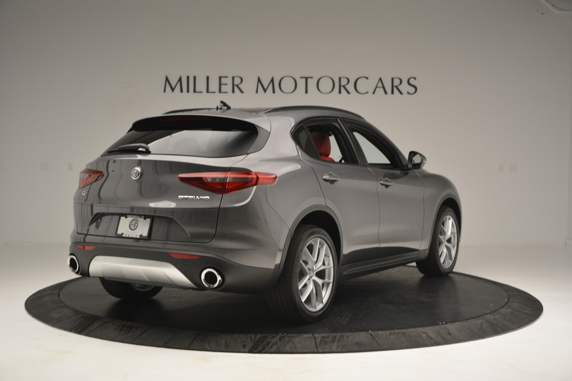 New 2019 Alfa Romeo Stelvio Sport Q4 For Sale In Greenwich, CT. Alfa Romeo of Greenwich, L518 2809_p7