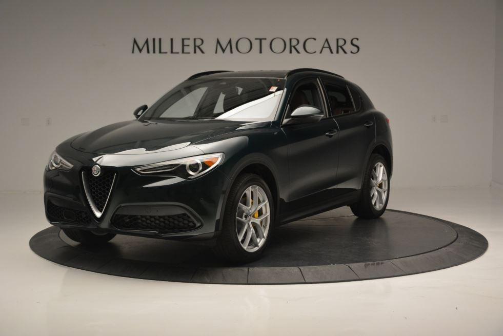 New 2019 Alfa Romeo Stelvio Sport Q4 For Sale In Greenwich, CT. Alfa Romeo of Greenwich, L520 2811_p2