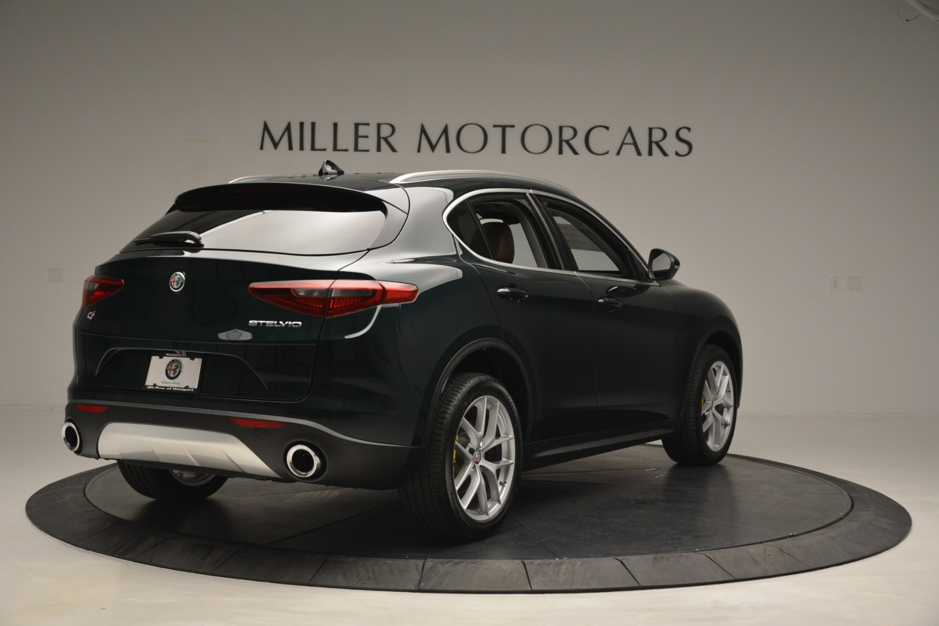 New 2019 Alfa Romeo Stelvio Q4 For Sale In Greenwich, CT. Alfa Romeo of Greenwich, L521 2812_p7