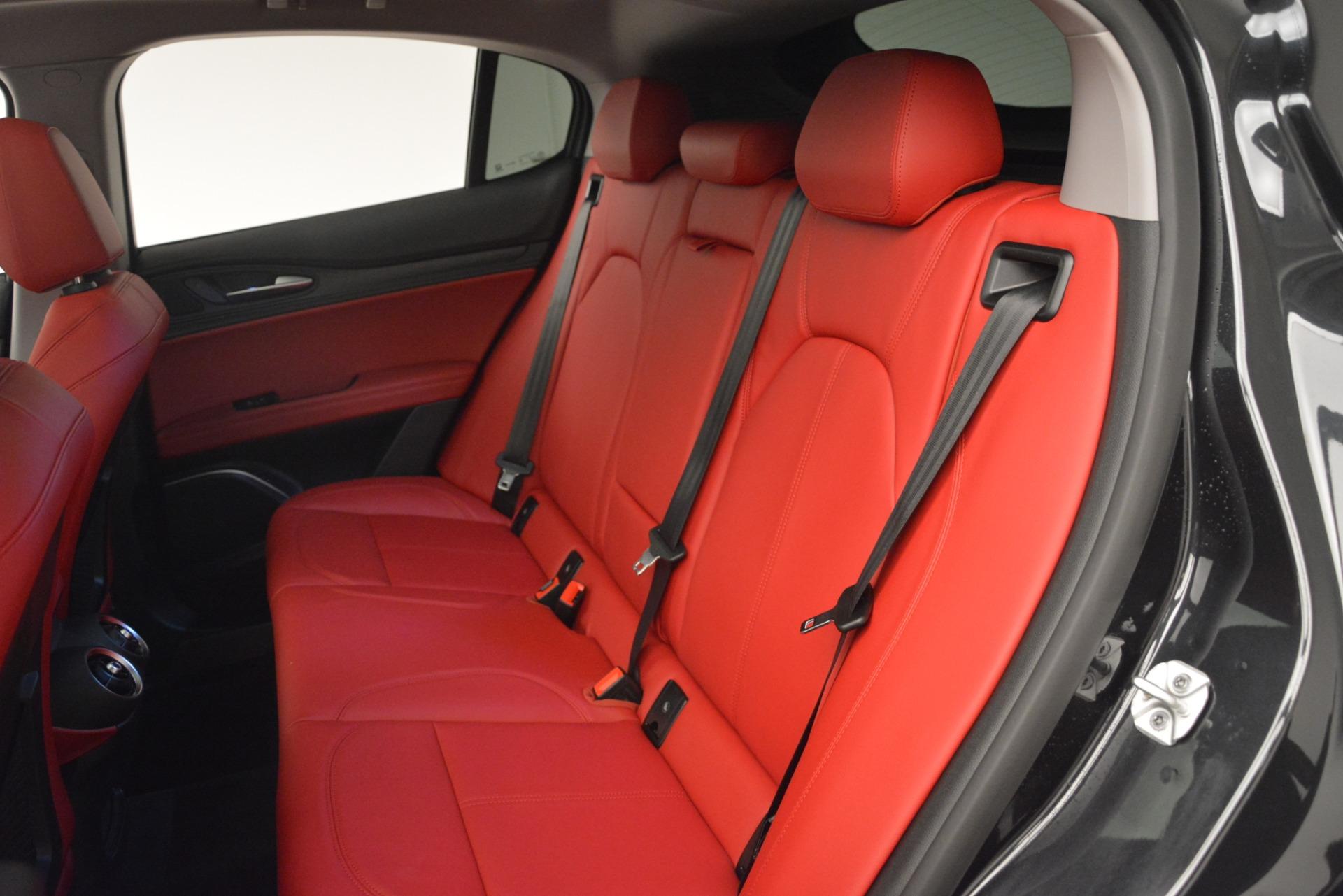 New 2019 Alfa Romeo Stelvio Q4 For Sale In Greenwich, CT. Alfa Romeo of Greenwich, L528 2818_p17