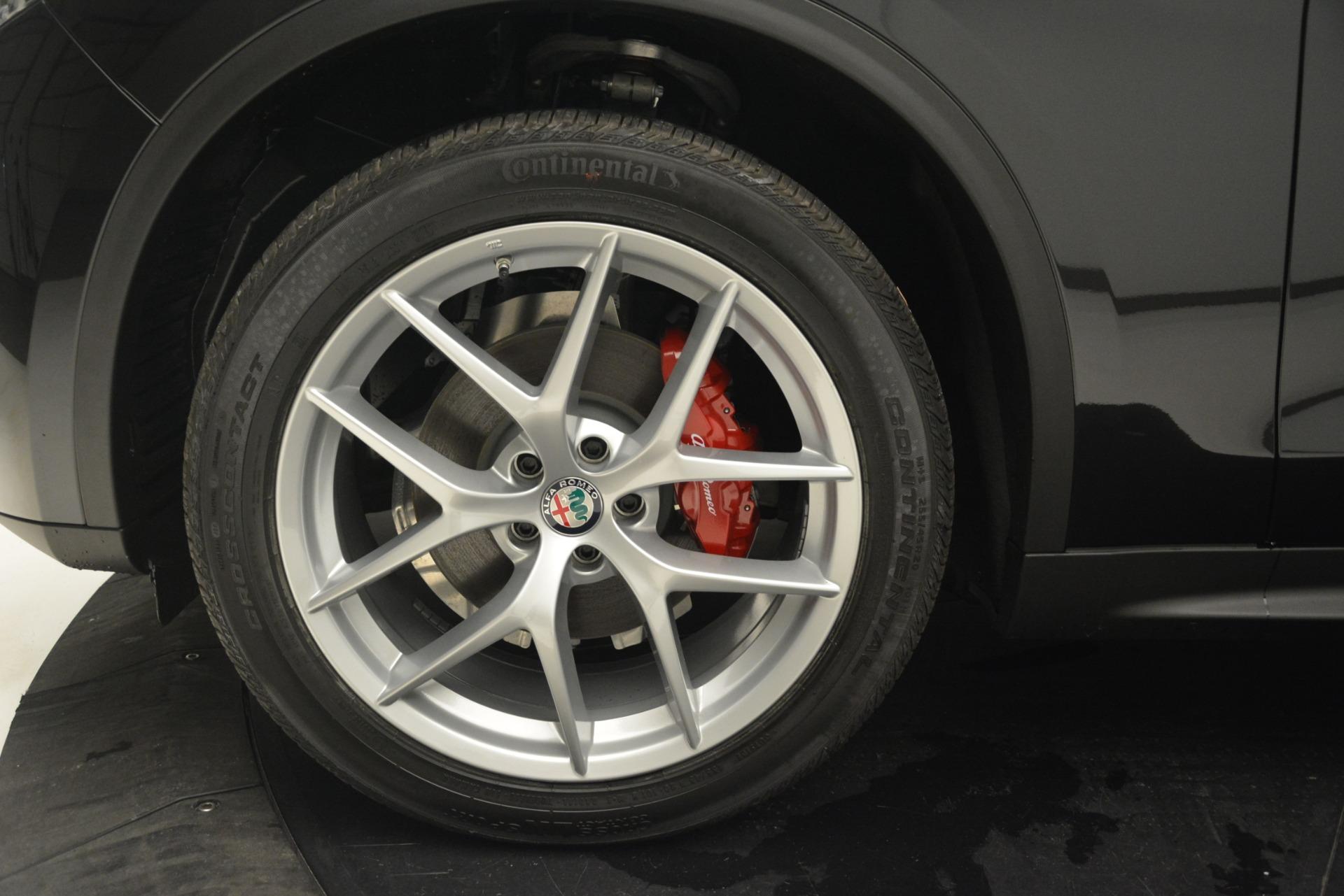 New 2019 Alfa Romeo Stelvio Q4 For Sale In Greenwich, CT. Alfa Romeo of Greenwich, L528 2818_p20