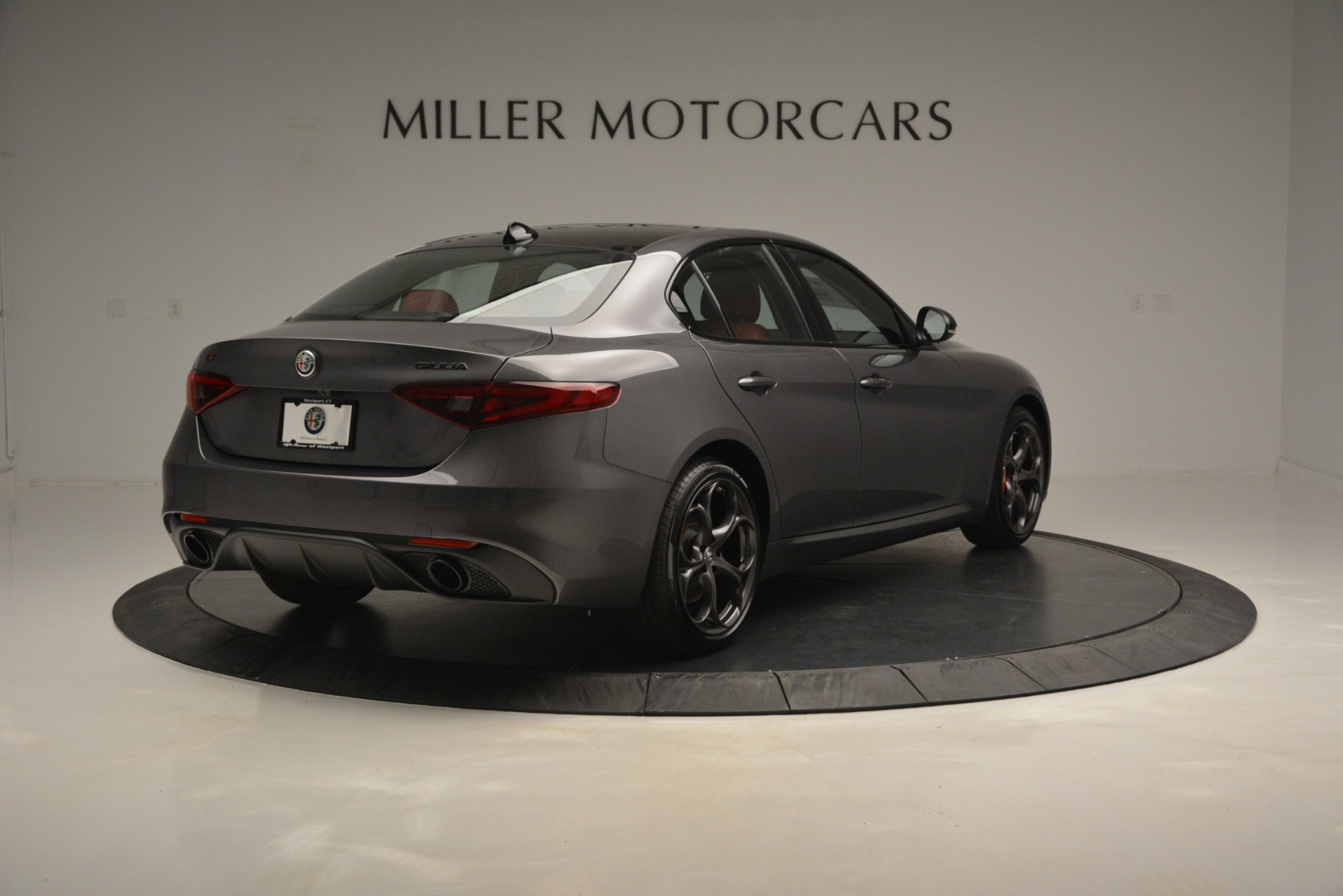 New 2019 Alfa Romeo Giulia Ti Sport Q4 For Sale In Greenwich, CT. Alfa Romeo of Greenwich, LW285 2824_p7