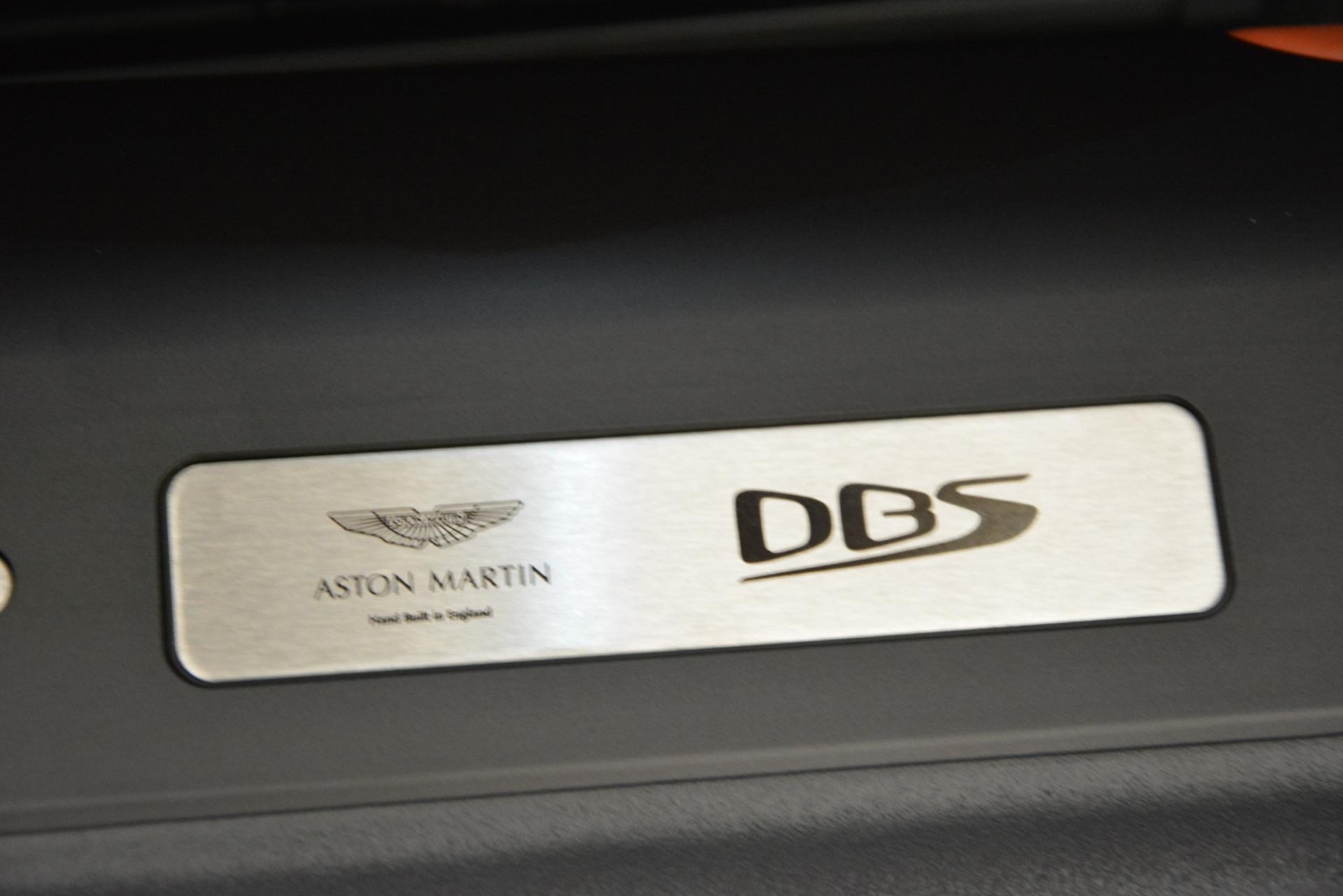 New 2019 Aston Martin DBS Superleggera For Sale In Greenwich, CT. Alfa Romeo of Greenwich, A1336 2827_p27