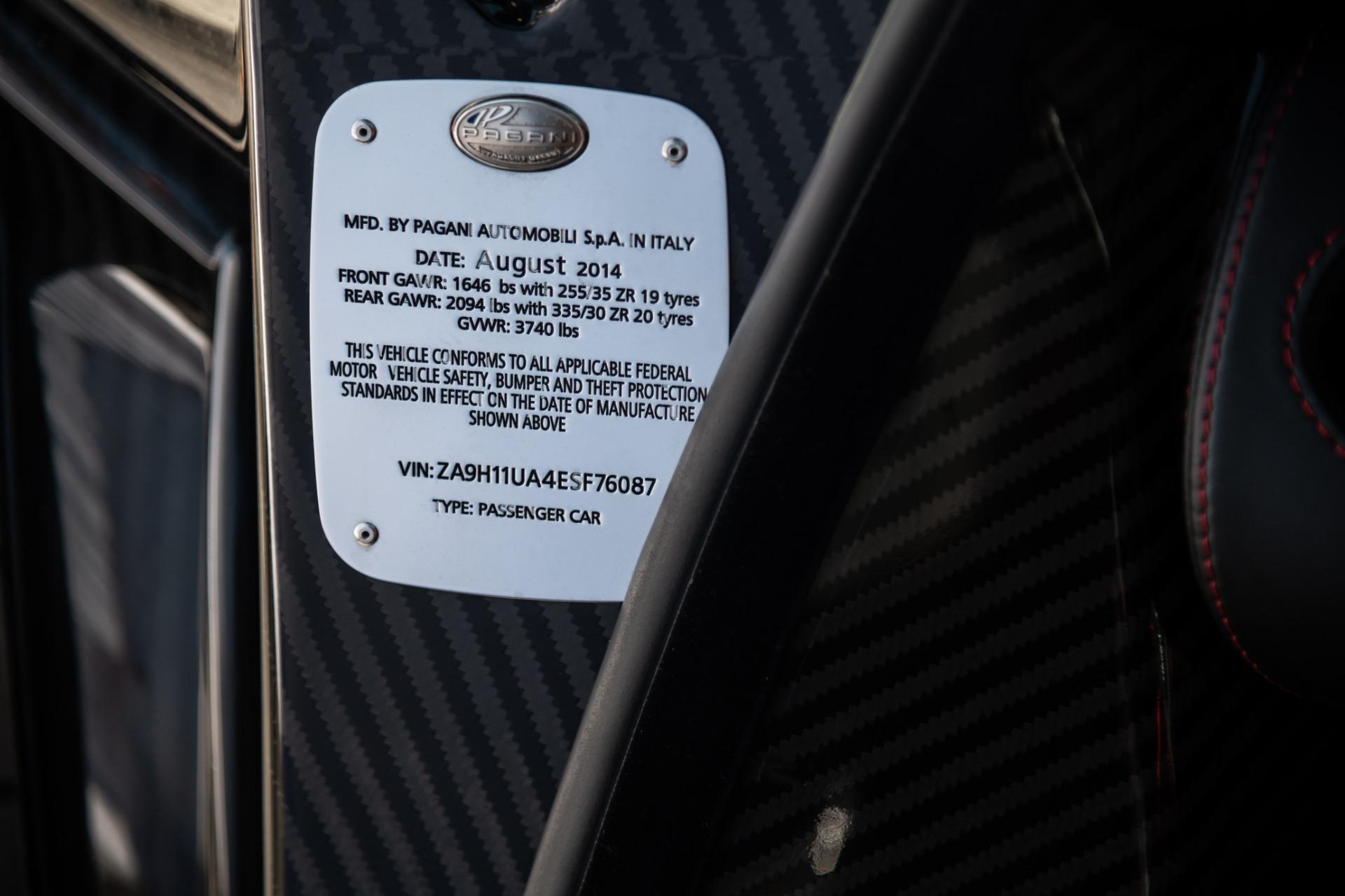 Used 2014 Pagani Huayra Tempesta For Sale In Greenwich, CT. Alfa Romeo of Greenwich, 7321 2841_p25