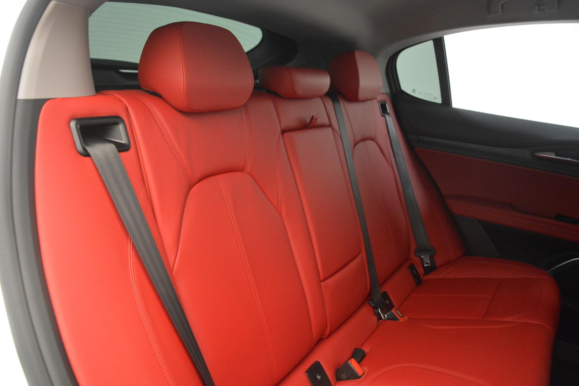 New 2019 Alfa Romeo Stelvio Q4 For Sale In Greenwich, CT. Alfa Romeo of Greenwich, L547 2849_p26