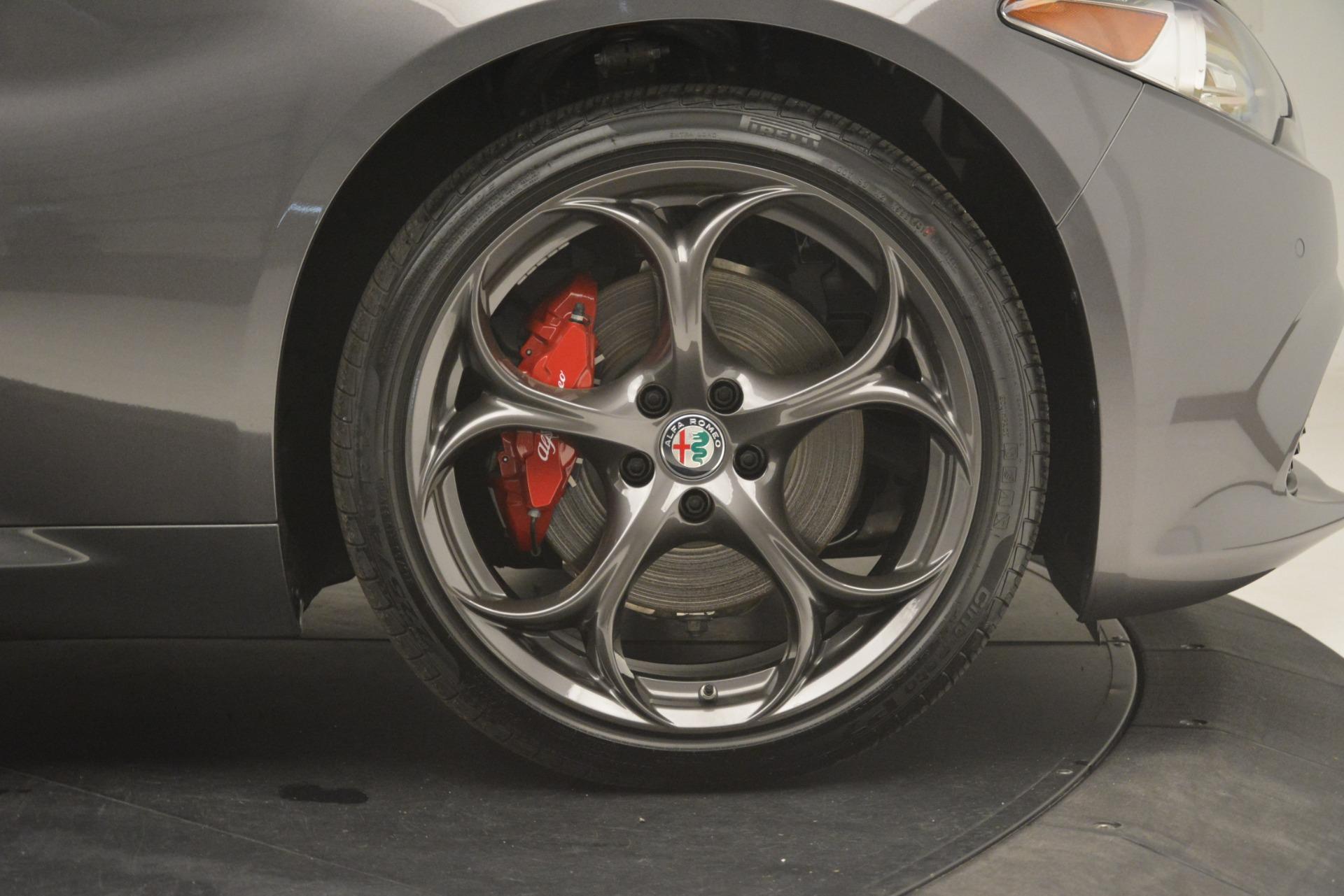 New 2019 Alfa Romeo Giulia Ti Sport Q4 For Sale In Greenwich, CT. Alfa Romeo of Greenwich, L549 2857_p30
