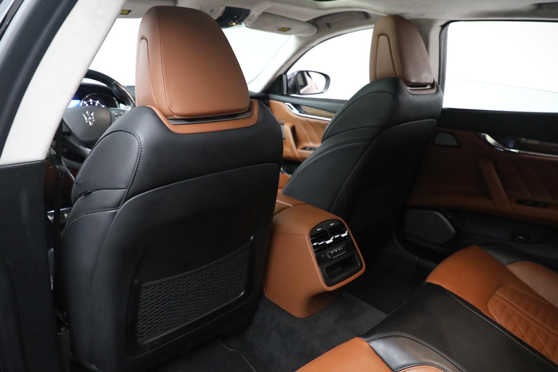 New 2019 Maserati Quattroporte S Q4 GranLusso Edizione Nobile For Sale In Greenwich, CT. Alfa Romeo of Greenwich, W662 2858_p19