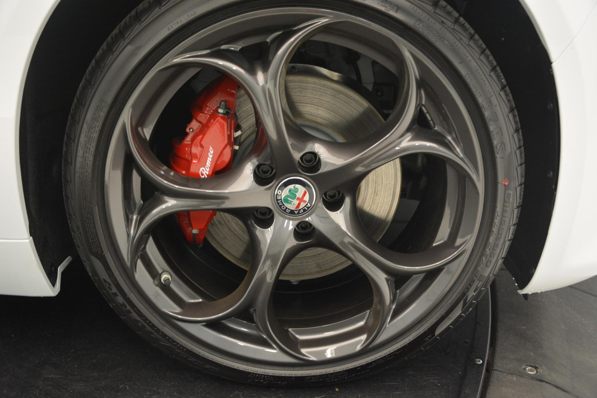 New 2019 Alfa Romeo Giulia Ti Sport Q4 For Sale In Greenwich, CT. Alfa Romeo of Greenwich, L551 2860_p25