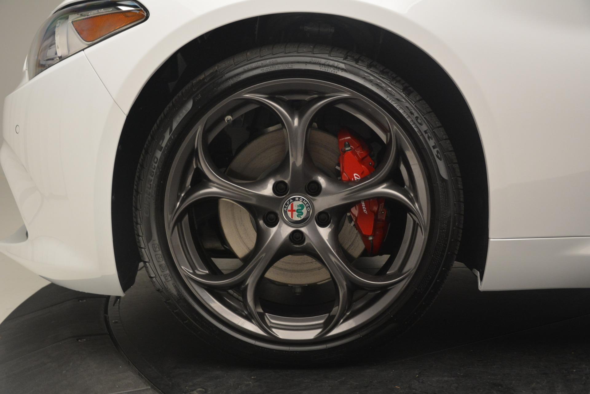 New 2019 Alfa Romeo Giulia Ti Sport Q4 For Sale In Greenwich, CT. Alfa Romeo of Greenwich, L552 2861_p30