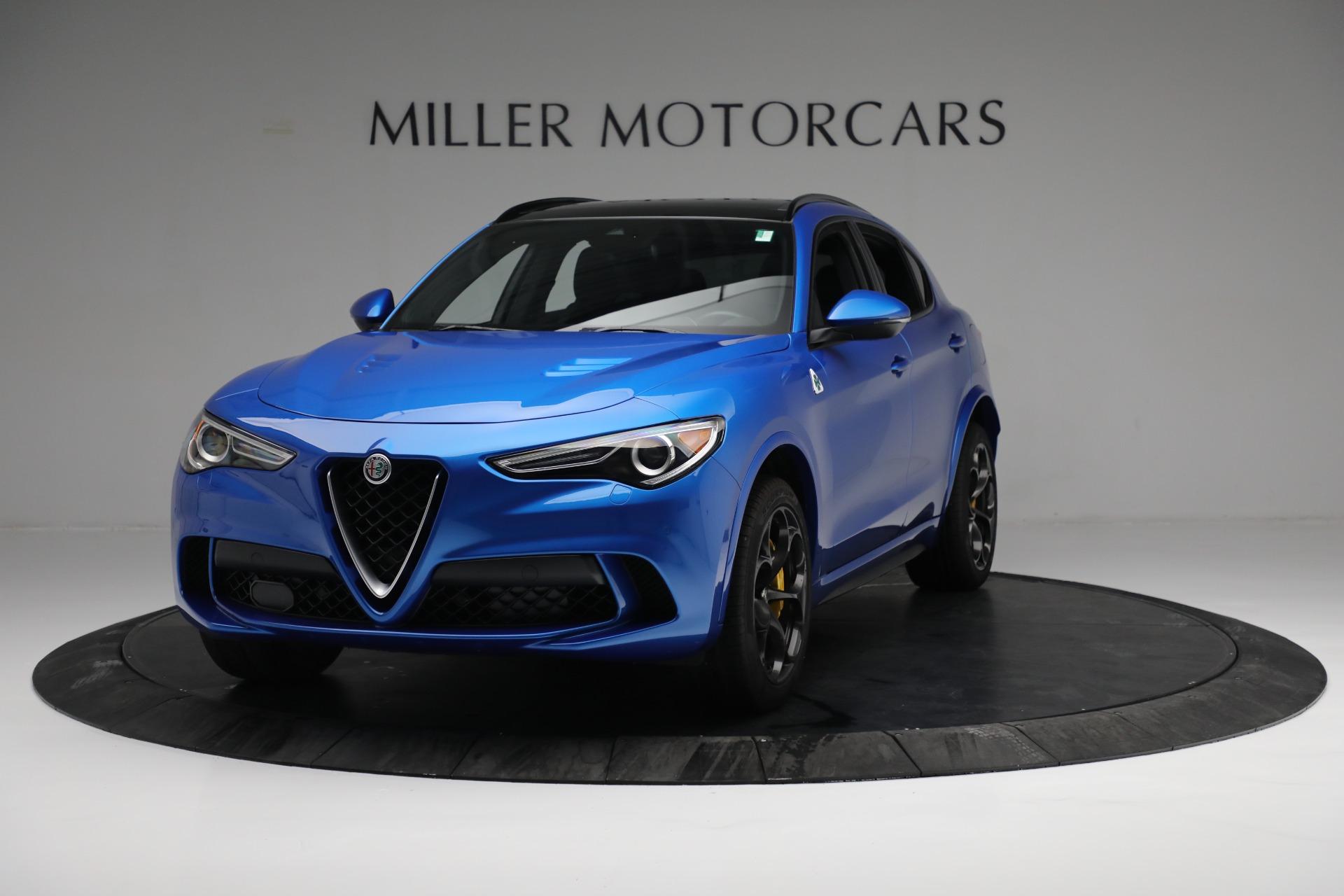 New 2019 Alfa Romeo Stelvio Quadrifoglio For Sale In Greenwich, CT. Alfa Romeo of Greenwich, L557 2867_main