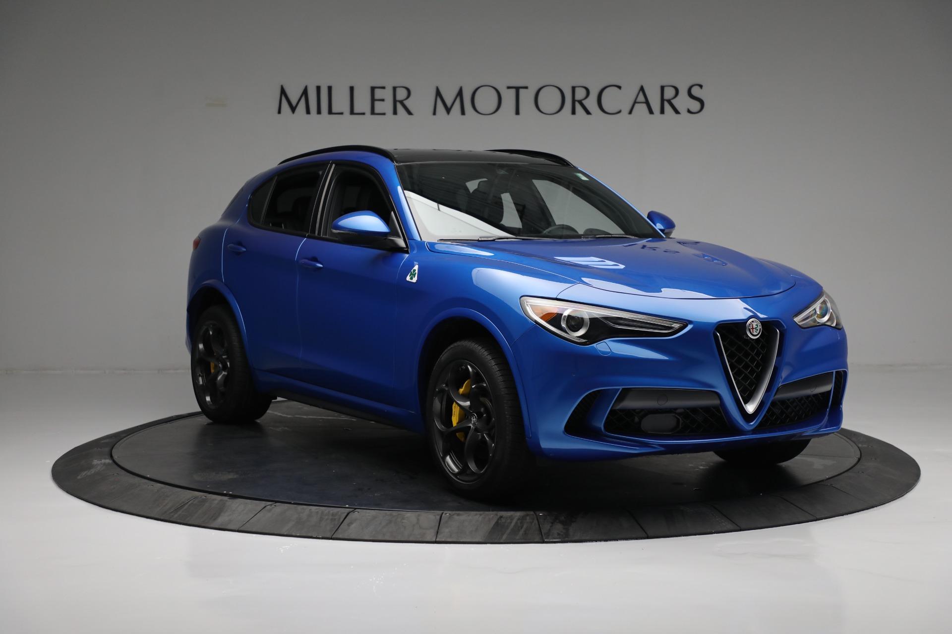 New 2019 Alfa Romeo Stelvio Quadrifoglio For Sale $86040 In Greenwich, CT 2867_p11