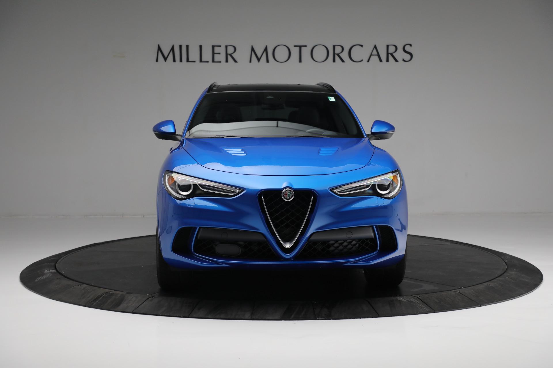 New 2019 Alfa Romeo Stelvio Quadrifoglio For Sale In Greenwich, CT. Alfa Romeo of Greenwich, L557 2867_p12