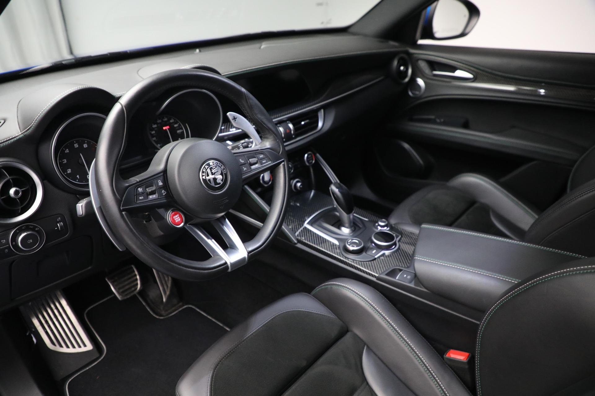 New 2019 Alfa Romeo Stelvio Quadrifoglio For Sale In Greenwich, CT. Alfa Romeo of Greenwich, L557 2867_p13