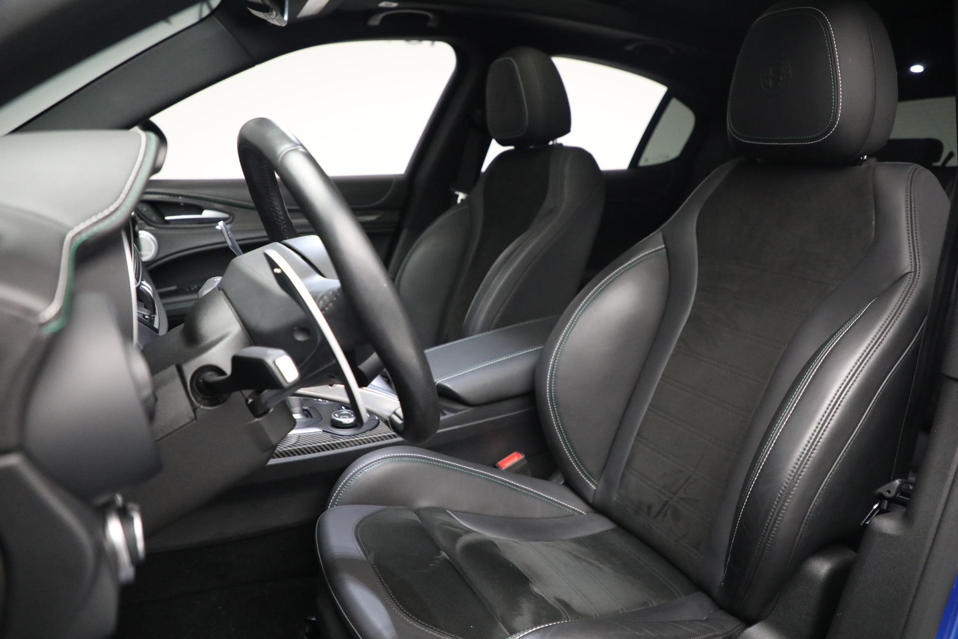 New 2019 Alfa Romeo Stelvio Quadrifoglio For Sale In Greenwich, CT. Alfa Romeo of Greenwich, L557 2867_p15