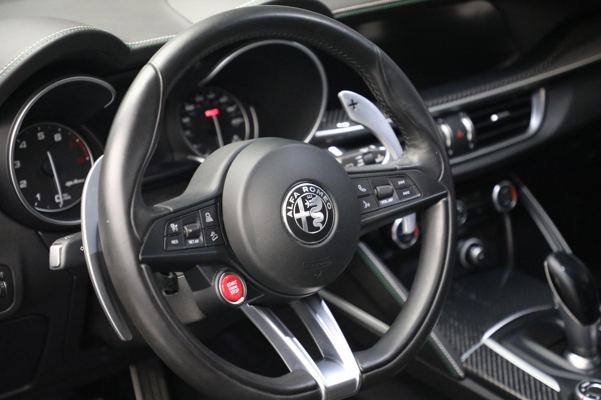 New 2019 Alfa Romeo Stelvio Quadrifoglio For Sale In Greenwich, CT. Alfa Romeo of Greenwich, L557 2867_p17