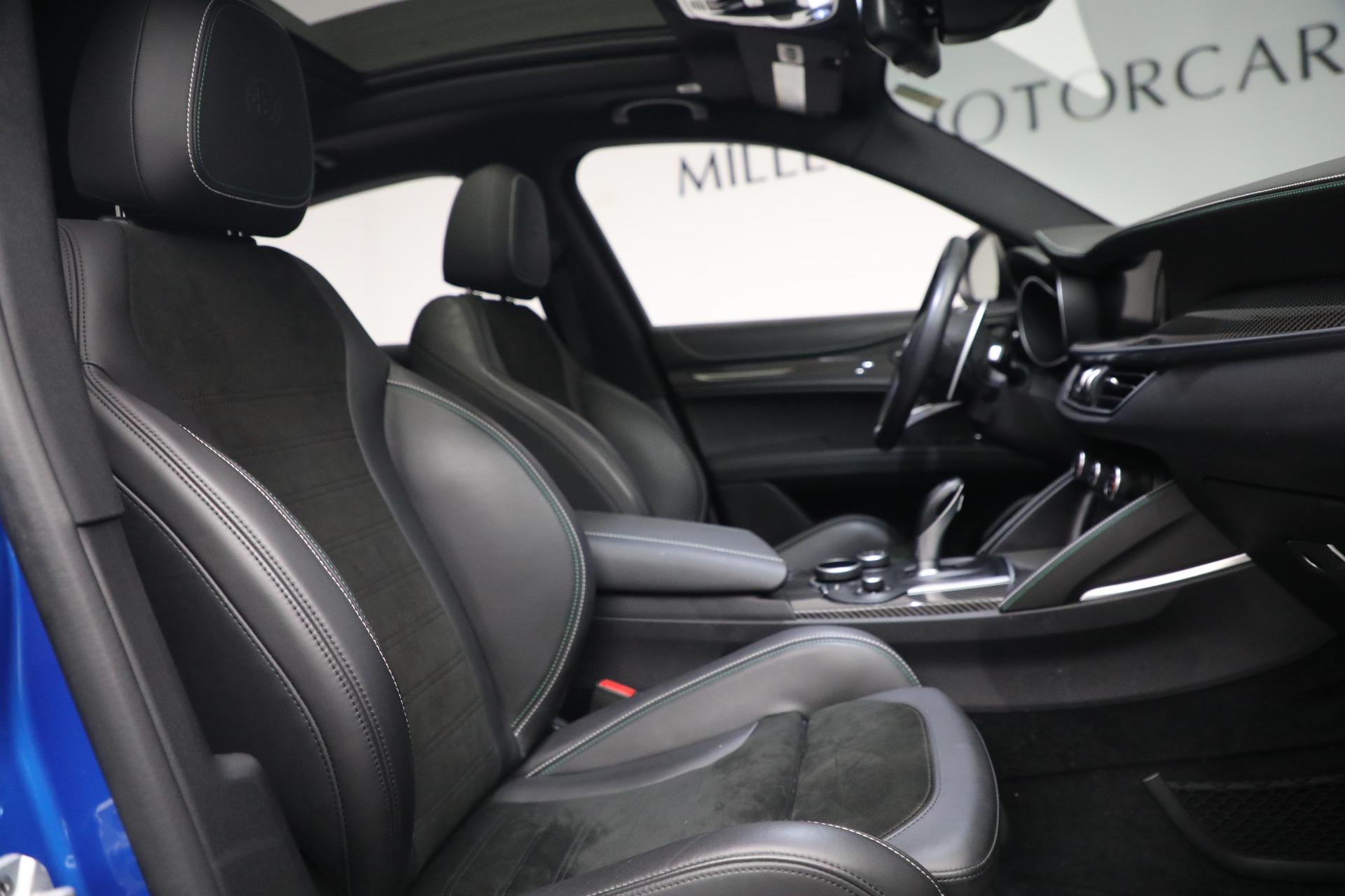 New 2019 Alfa Romeo Stelvio Quadrifoglio For Sale $86040 In Greenwich, CT 2867_p21