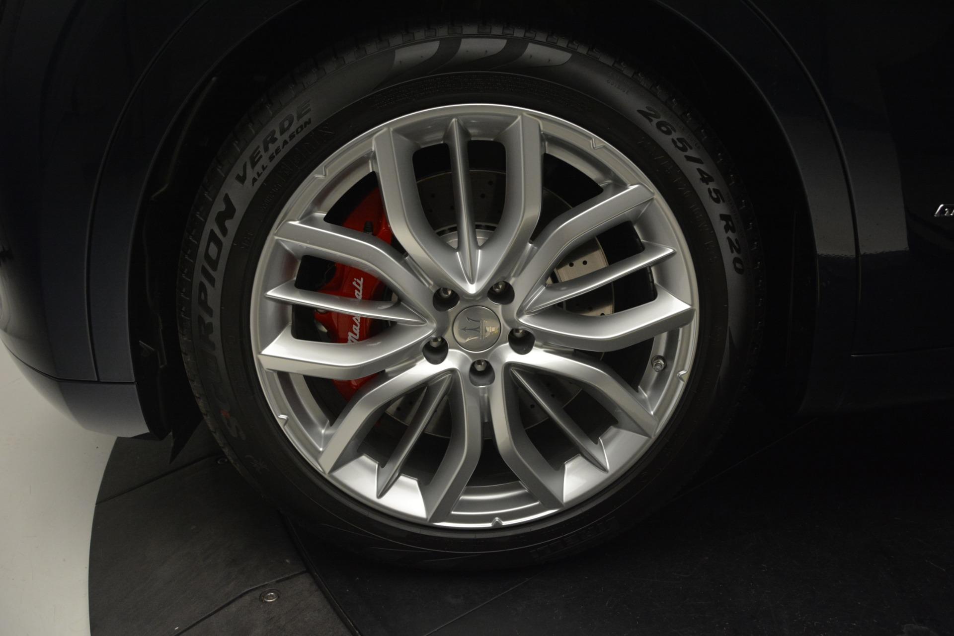 New 2019 Maserati Levante S Q4 GranLusso For Sale In Greenwich, CT. Alfa Romeo of Greenwich, W663 2868_p23