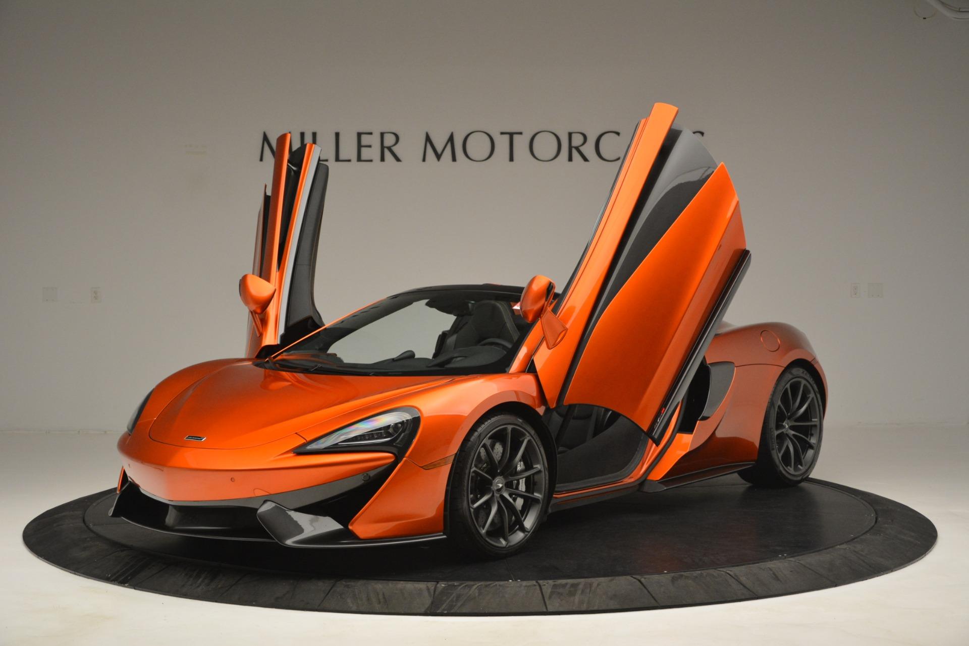 New 2019 McLaren 570S Spider Convertible For Sale In Greenwich, CT. Alfa Romeo of Greenwich, MC397 2872_p13