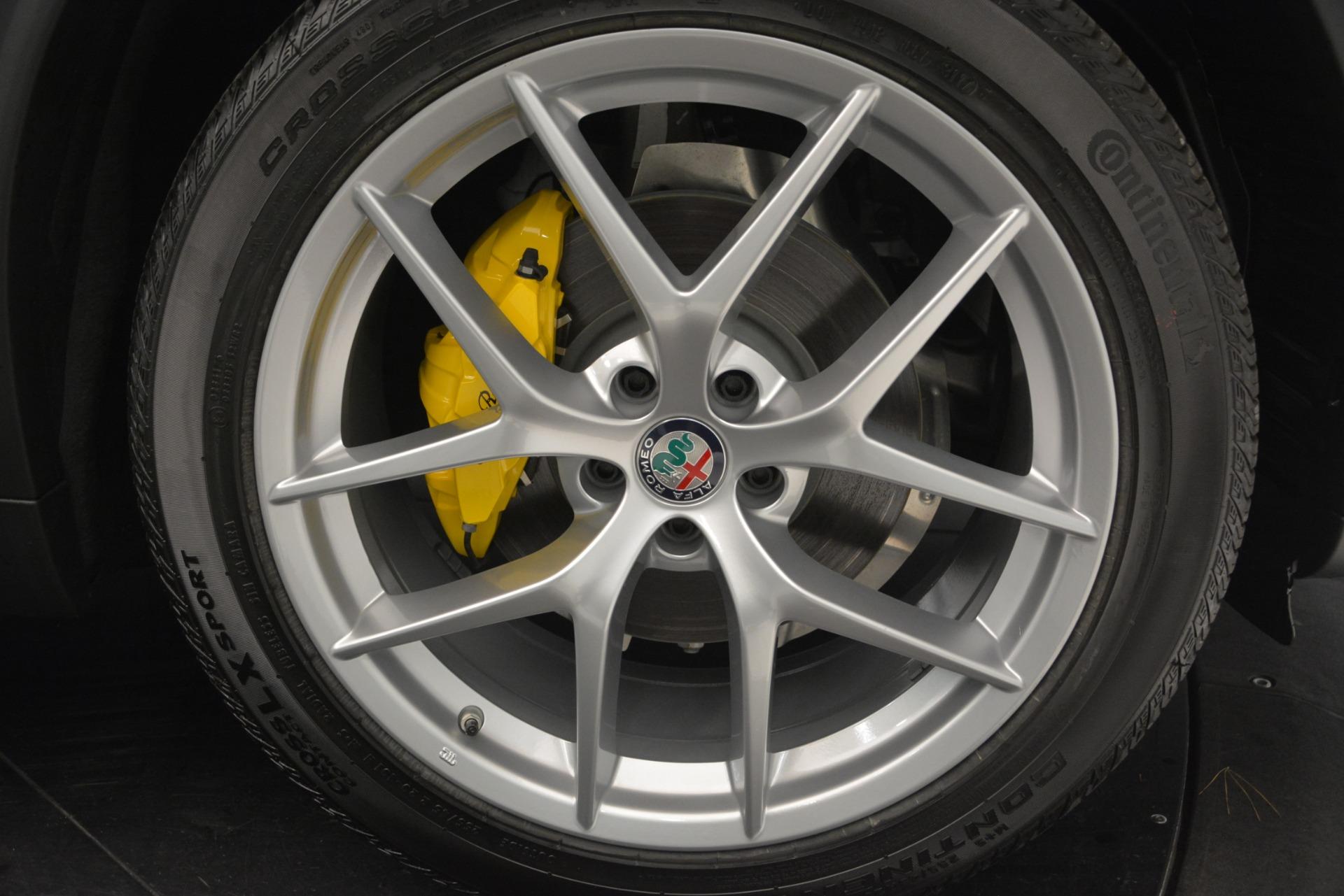New 2019 Alfa Romeo Stelvio Ti Sport Q4 For Sale In Greenwich, CT. Alfa Romeo of Greenwich, L559 2874_p26
