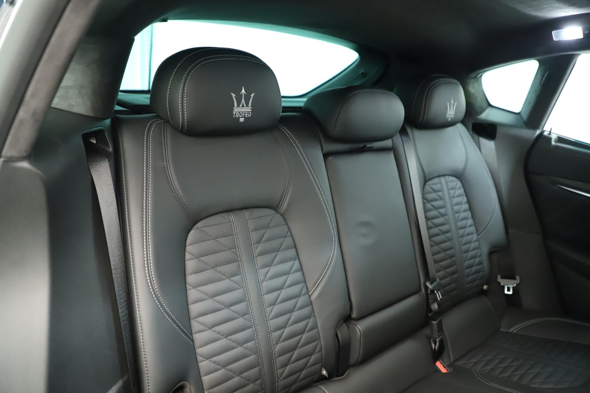 New 2019 Maserati Levante Trofeo For Sale In Greenwich, CT. Alfa Romeo of Greenwich, M2254 2884_p27