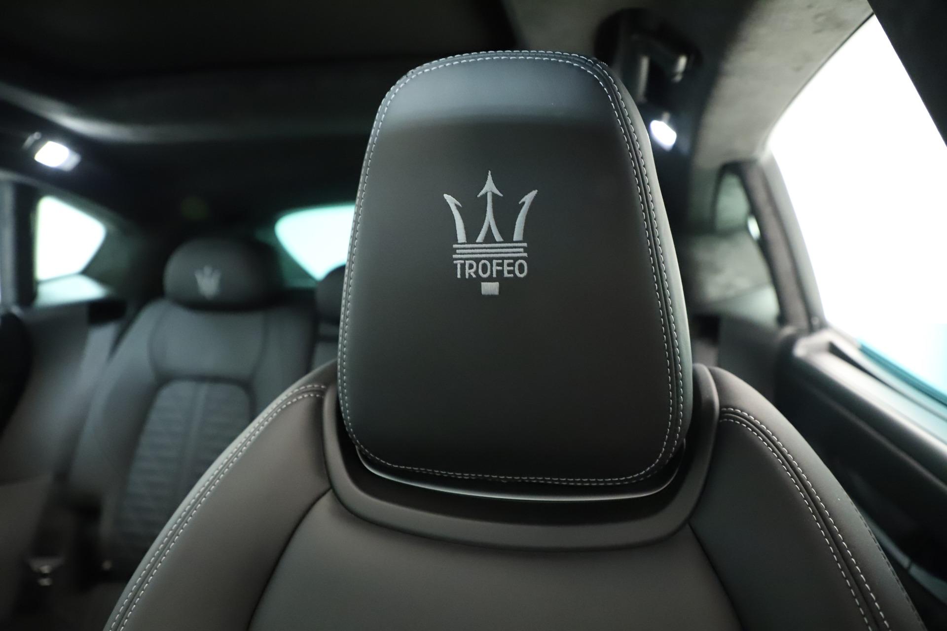 New 2019 Maserati Levante Trofeo For Sale In Greenwich, CT. Alfa Romeo of Greenwich, M2254 2884_p35