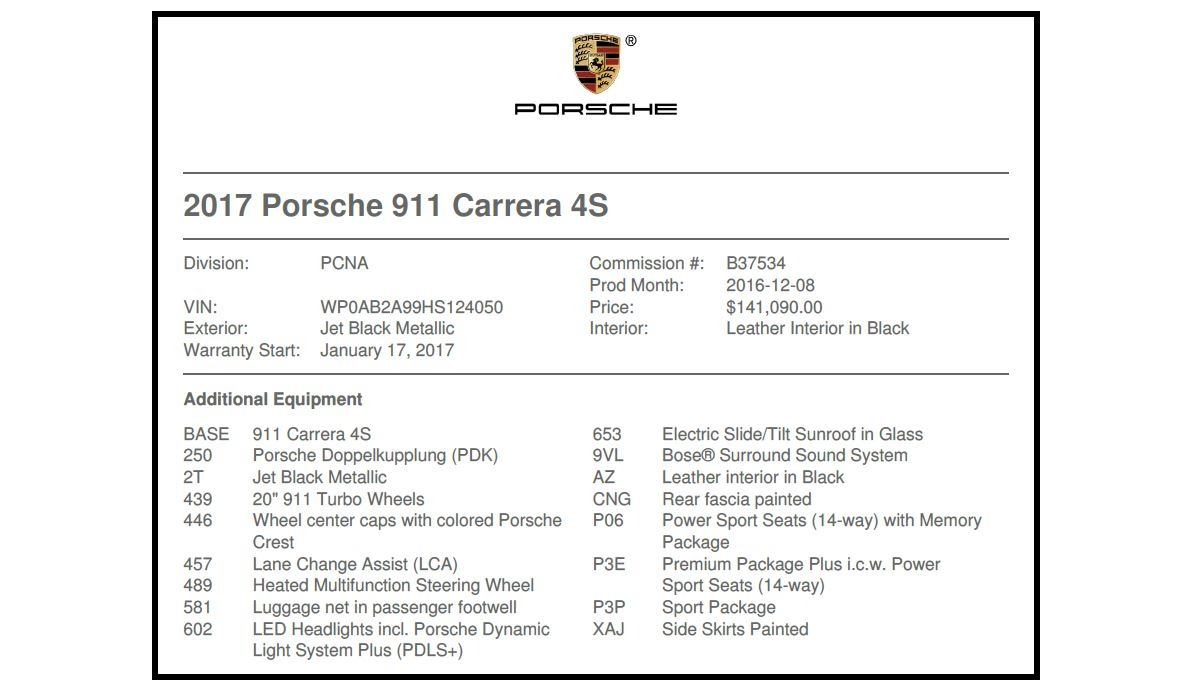Used 2017 Porsche 911 Carrera 4S For Sale In Greenwich, CT. Alfa Romeo of Greenwich, MC364A 2887_p21