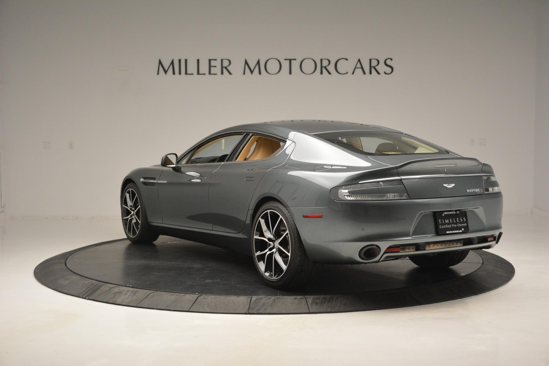 Used 2017 Aston Martin Rapide S Sedan For Sale In Greenwich, CT. Alfa Romeo of Greenwich, 7462 2889_p5
