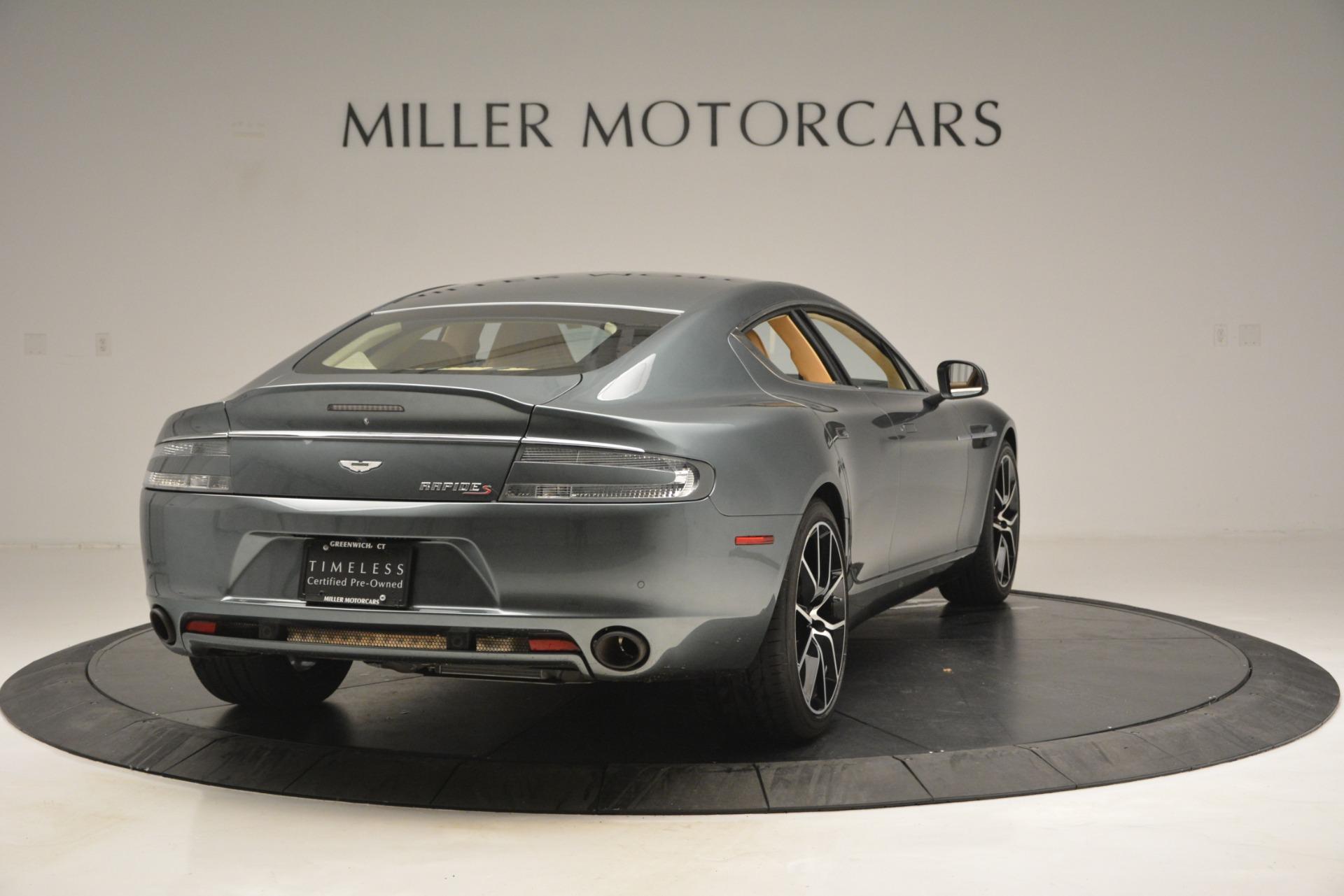 Used 2017 Aston Martin Rapide S Sedan For Sale $0 In Greenwich, CT 2889_p7