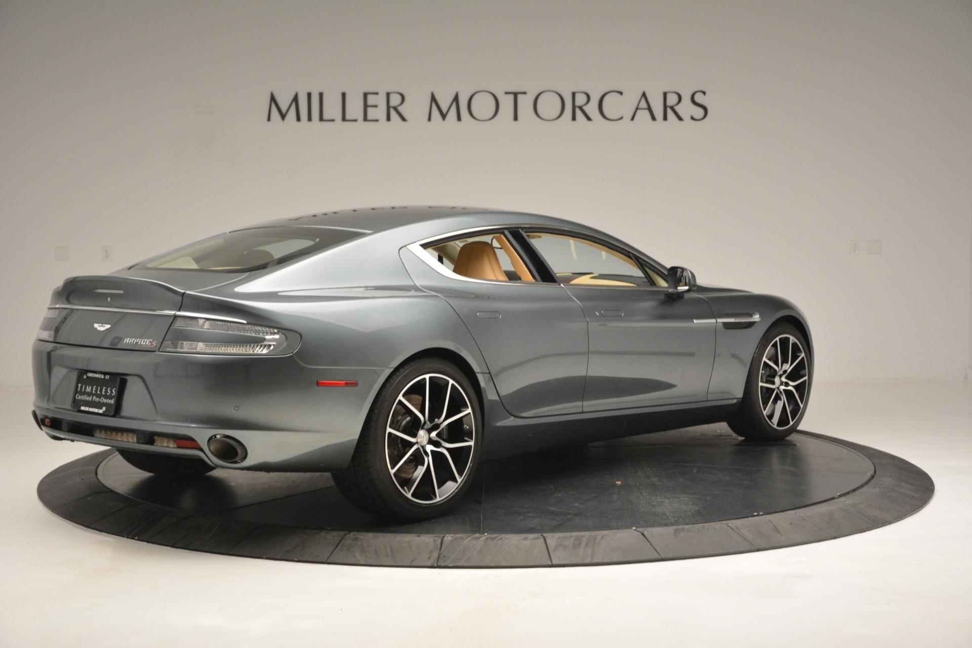 Used 2017 Aston Martin Rapide S Sedan For Sale In Greenwich, CT. Alfa Romeo of Greenwich, 7462 2889_p8