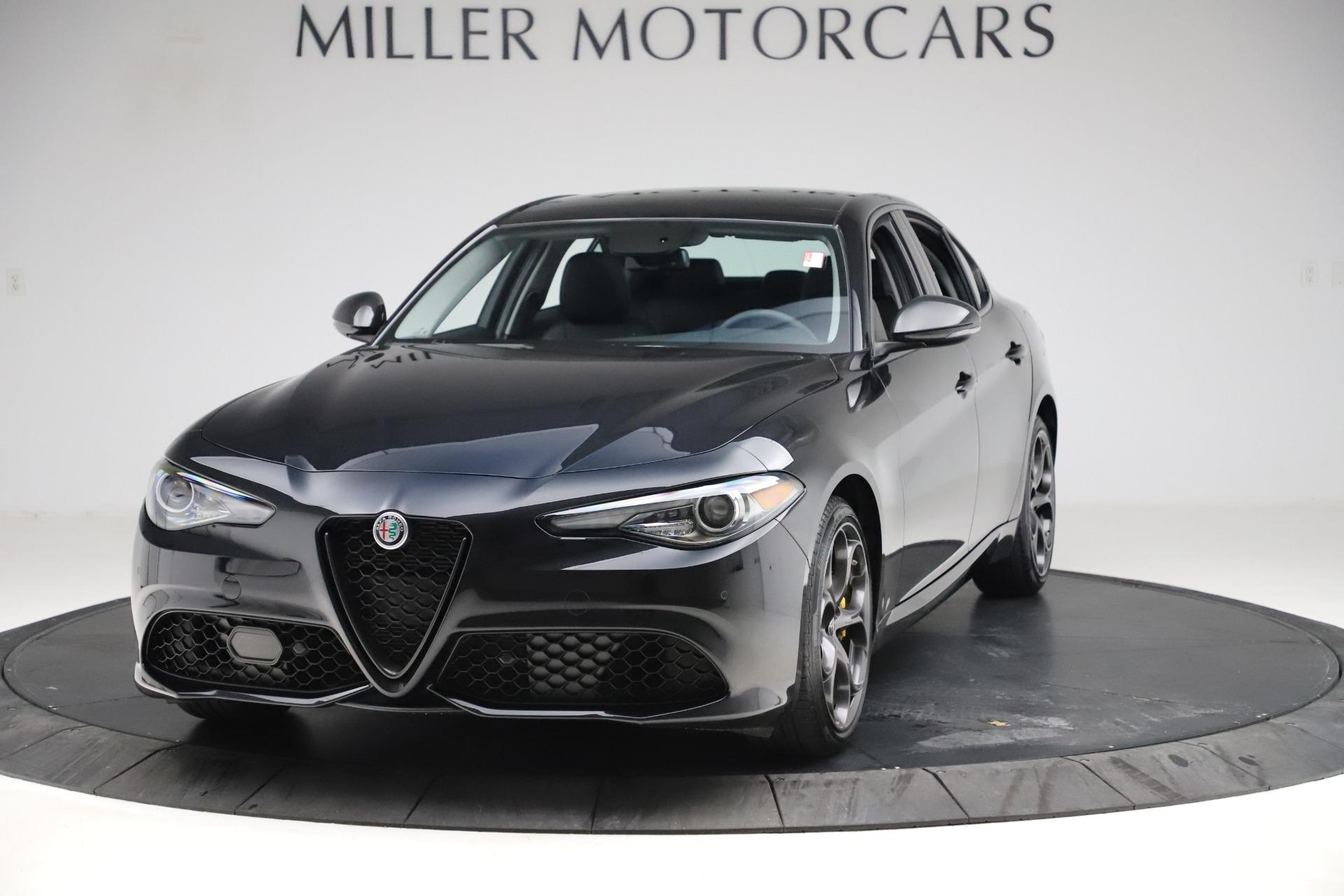 New 2019 Alfa Romeo Giulia Sport Q4 For Sale In Greenwich, CT. Alfa Romeo of Greenwich, L561 2890_main