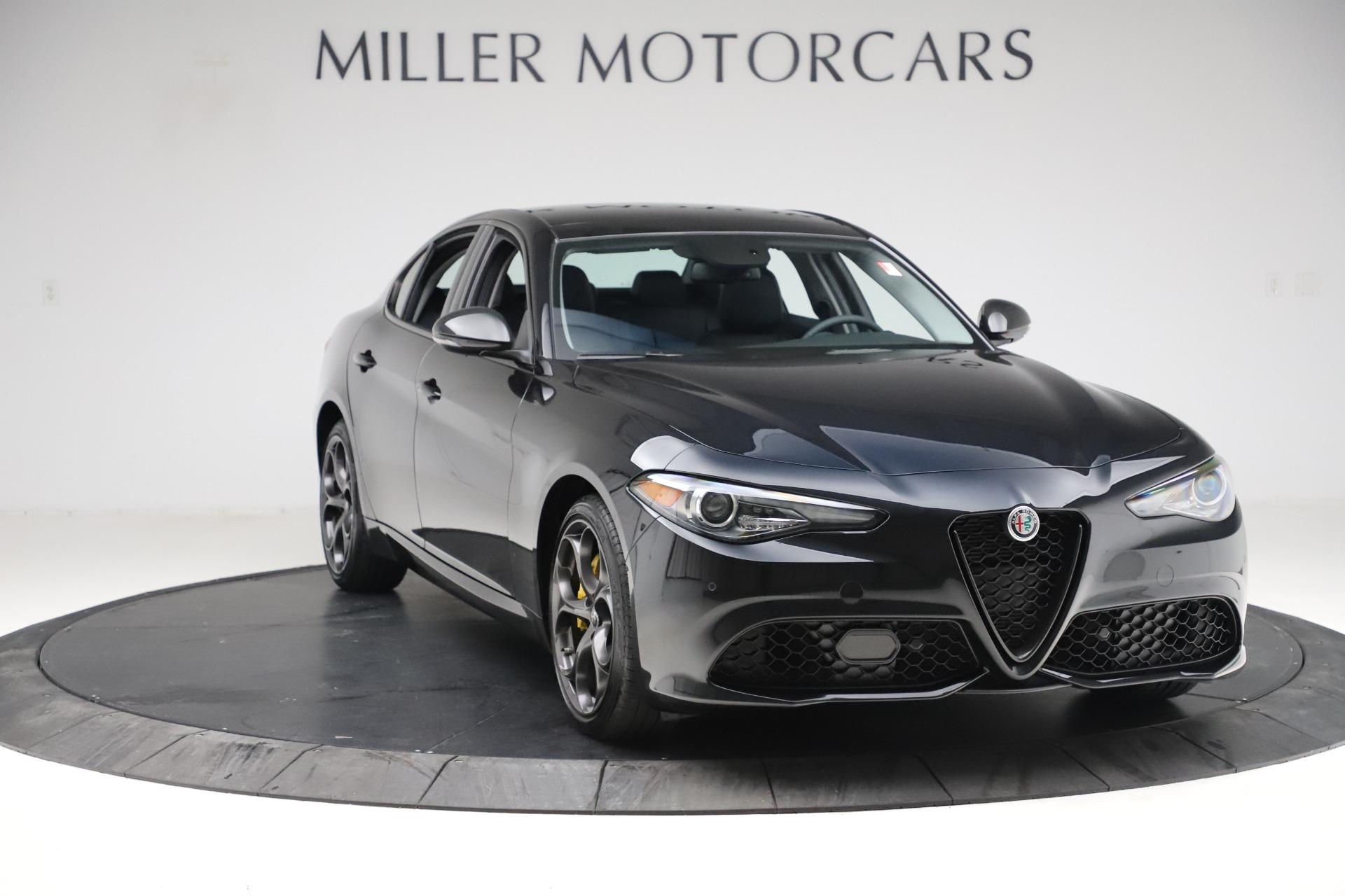 New 2019 Alfa Romeo Giulia Sport Q4 For Sale In Greenwich, CT. Alfa Romeo of Greenwich, L561 2890_p11