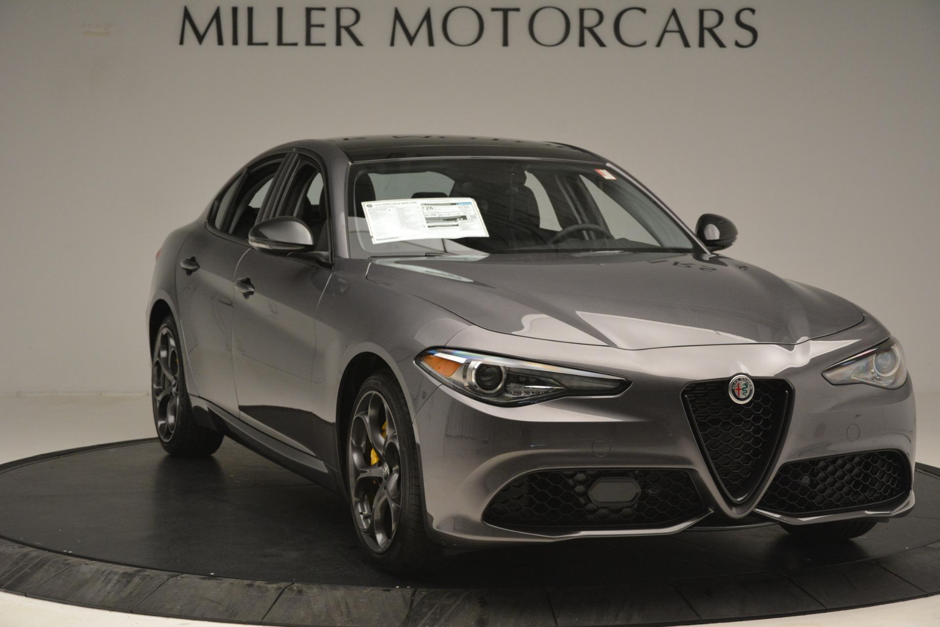 New 2019 Alfa Romeo Giulia Sport Q4 For Sale In Greenwich, CT. Alfa Romeo of Greenwich, L564 2893_p11