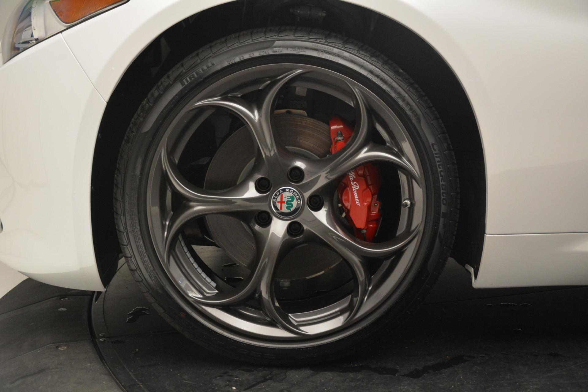 New 2019 Alfa Romeo Giulia Ti Sport Q4 For Sale In Greenwich, CT. Alfa Romeo of Greenwich, L567 2896_p30
