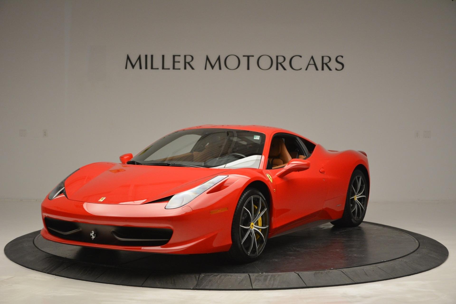 Used 2014 Ferrari 458 Italia  For Sale In Greenwich, CT. Alfa Romeo of Greenwich, 4530 2920_main