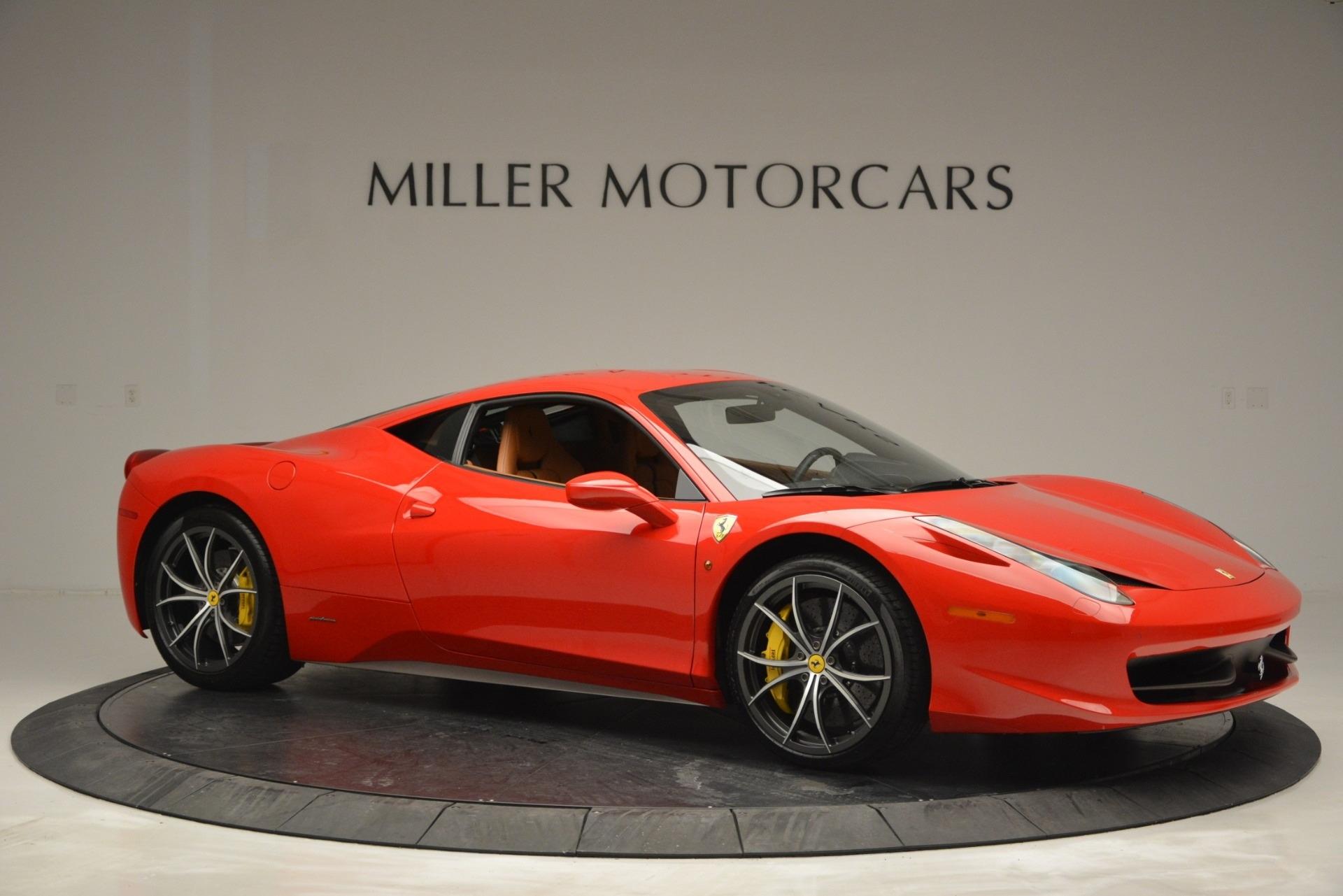Used 2014 Ferrari 458 Italia  For Sale In Greenwich, CT. Alfa Romeo of Greenwich, 4530 2920_p10