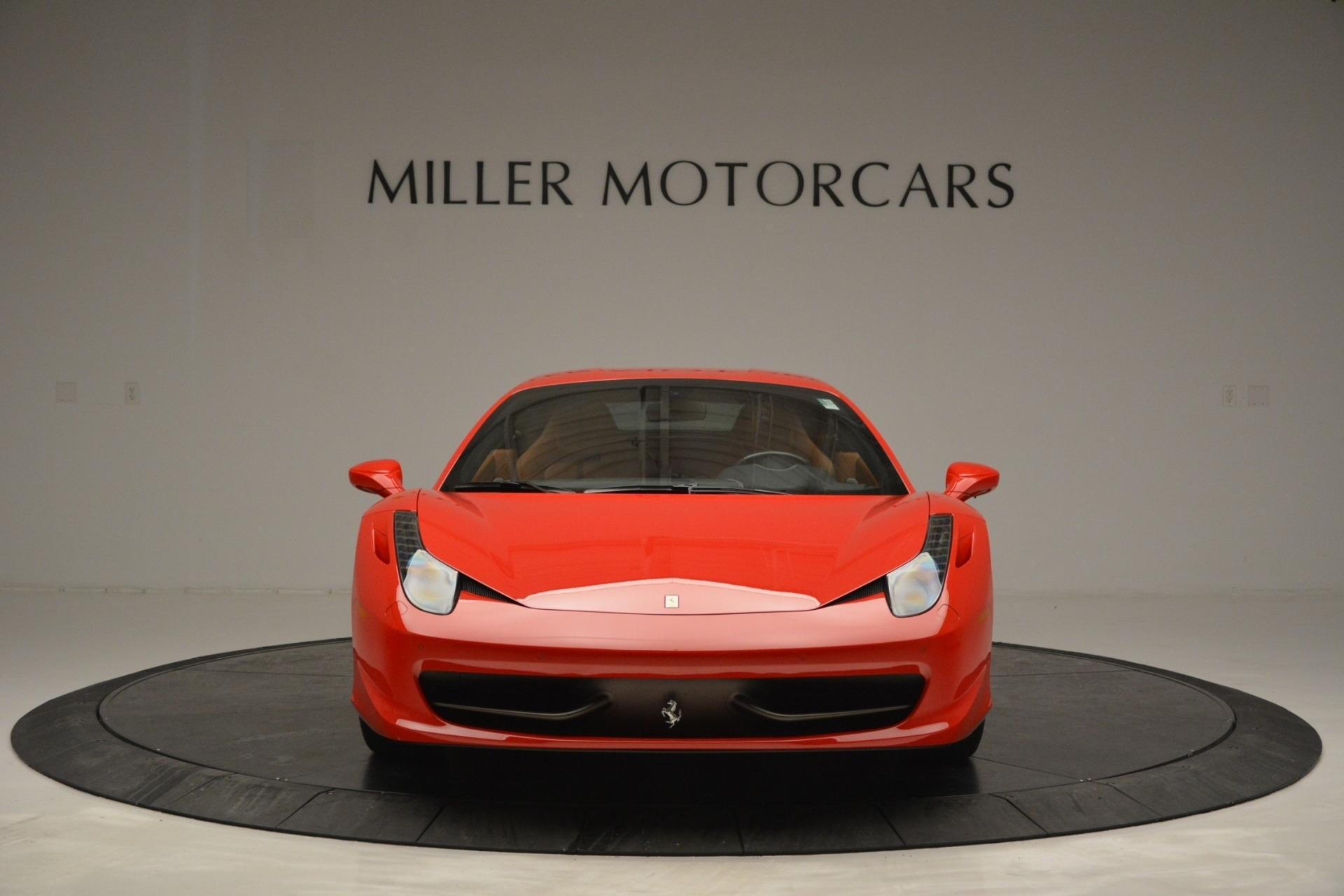 Used 2014 Ferrari 458 Italia  For Sale In Greenwich, CT. Alfa Romeo of Greenwich, 4530 2920_p12