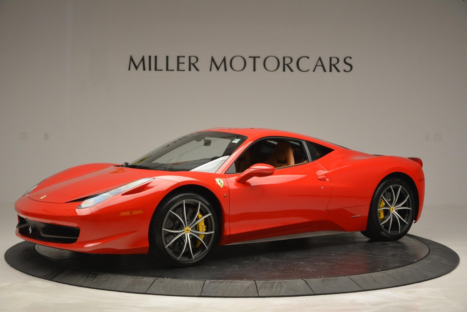 Used 2014 Ferrari 458 Italia  For Sale In Greenwich, CT. Alfa Romeo of Greenwich, 4530 2920_p2