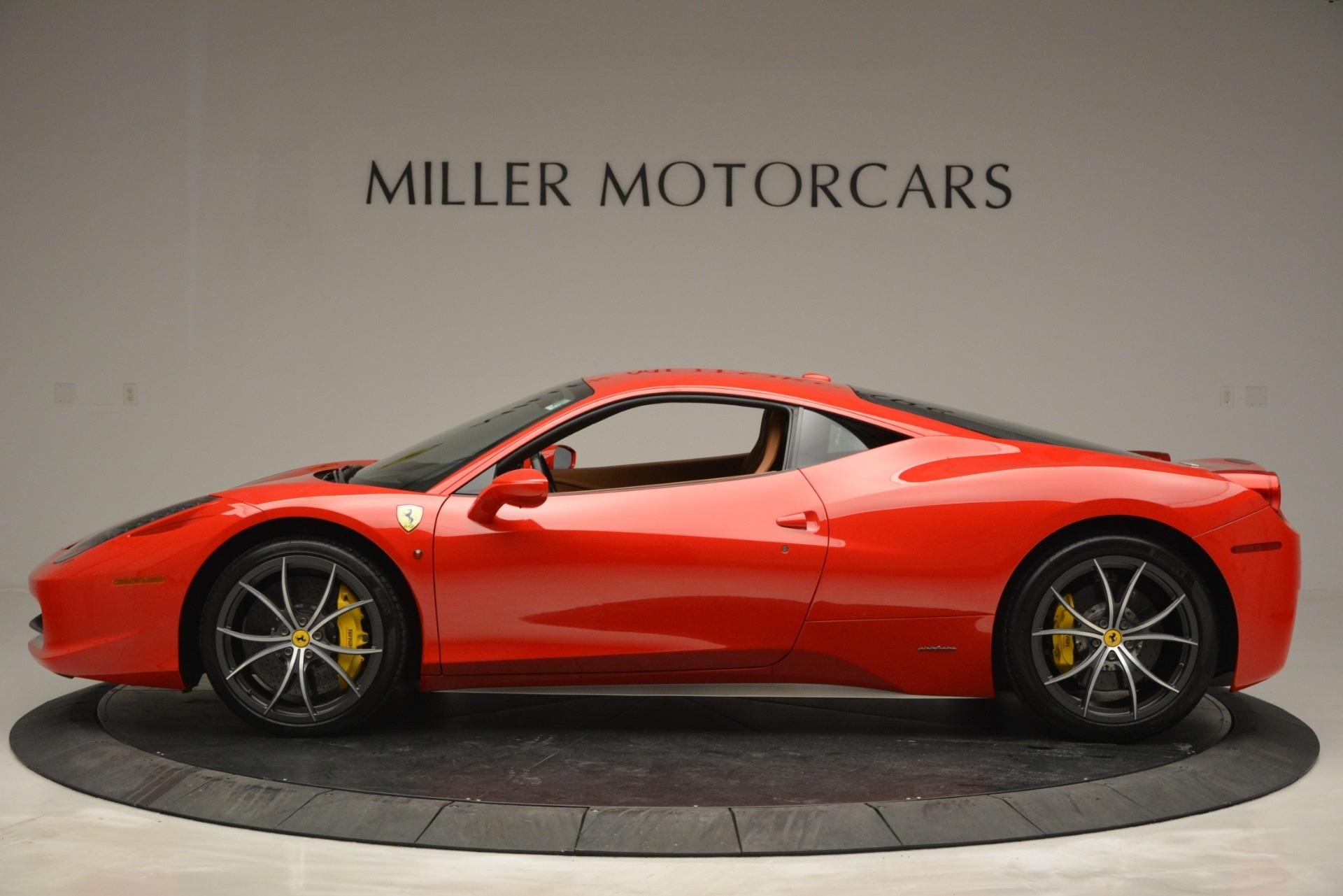 Used 2014 Ferrari 458 Italia  For Sale In Greenwich, CT. Alfa Romeo of Greenwich, 4530 2920_p3