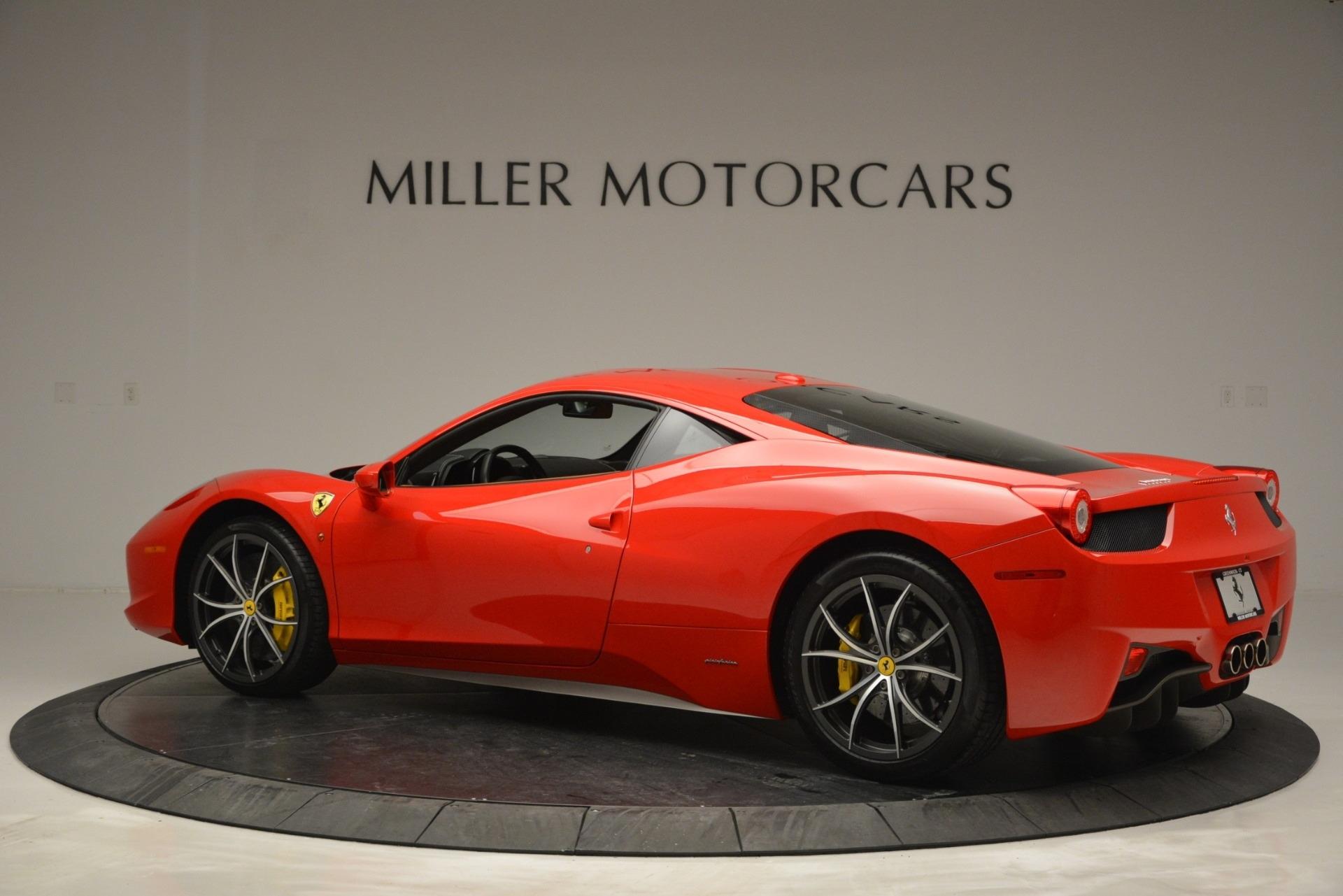 Used 2014 Ferrari 458 Italia  For Sale In Greenwich, CT. Alfa Romeo of Greenwich, 4530 2920_p4