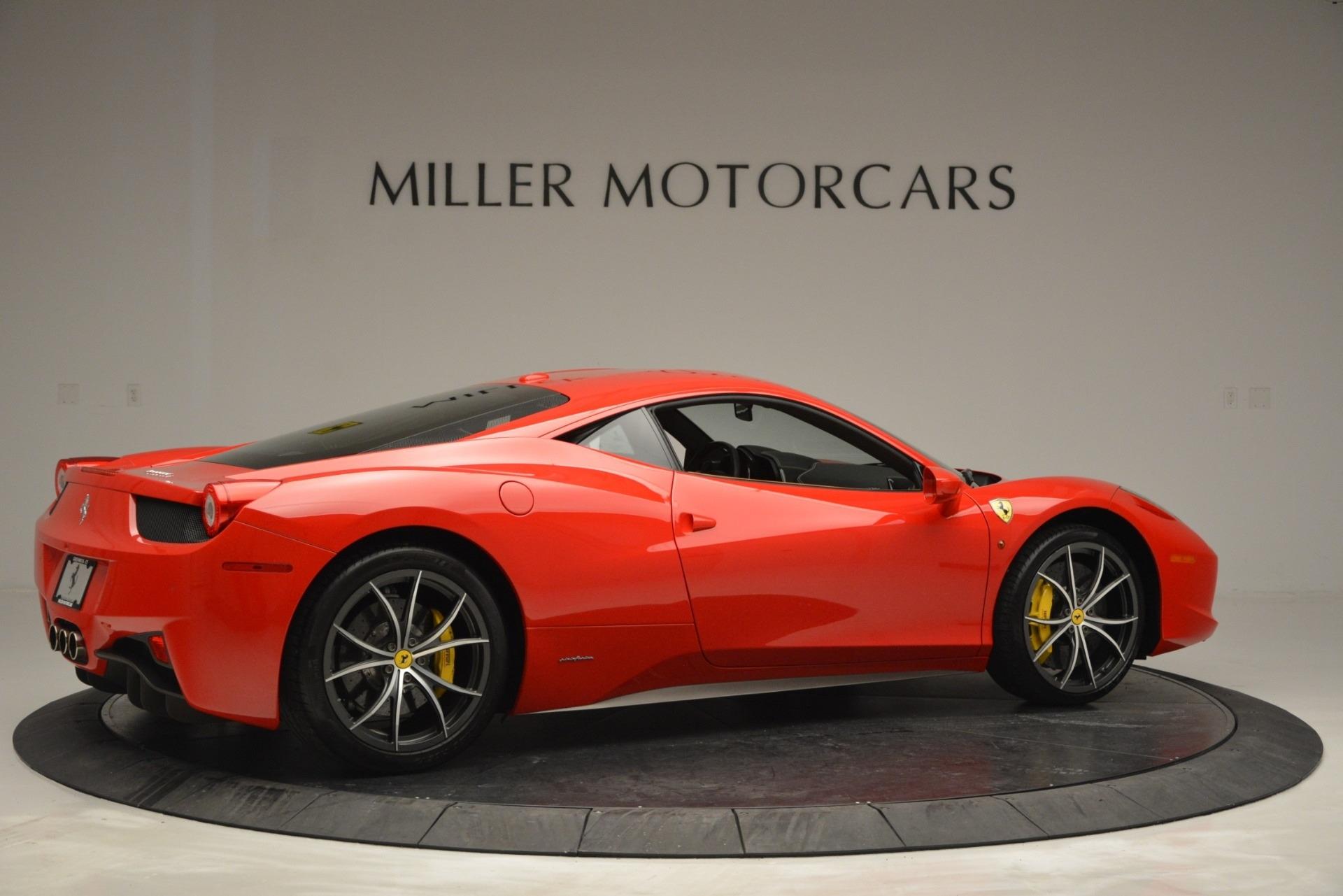Used 2014 Ferrari 458 Italia  For Sale In Greenwich, CT. Alfa Romeo of Greenwich, 4530 2920_p8