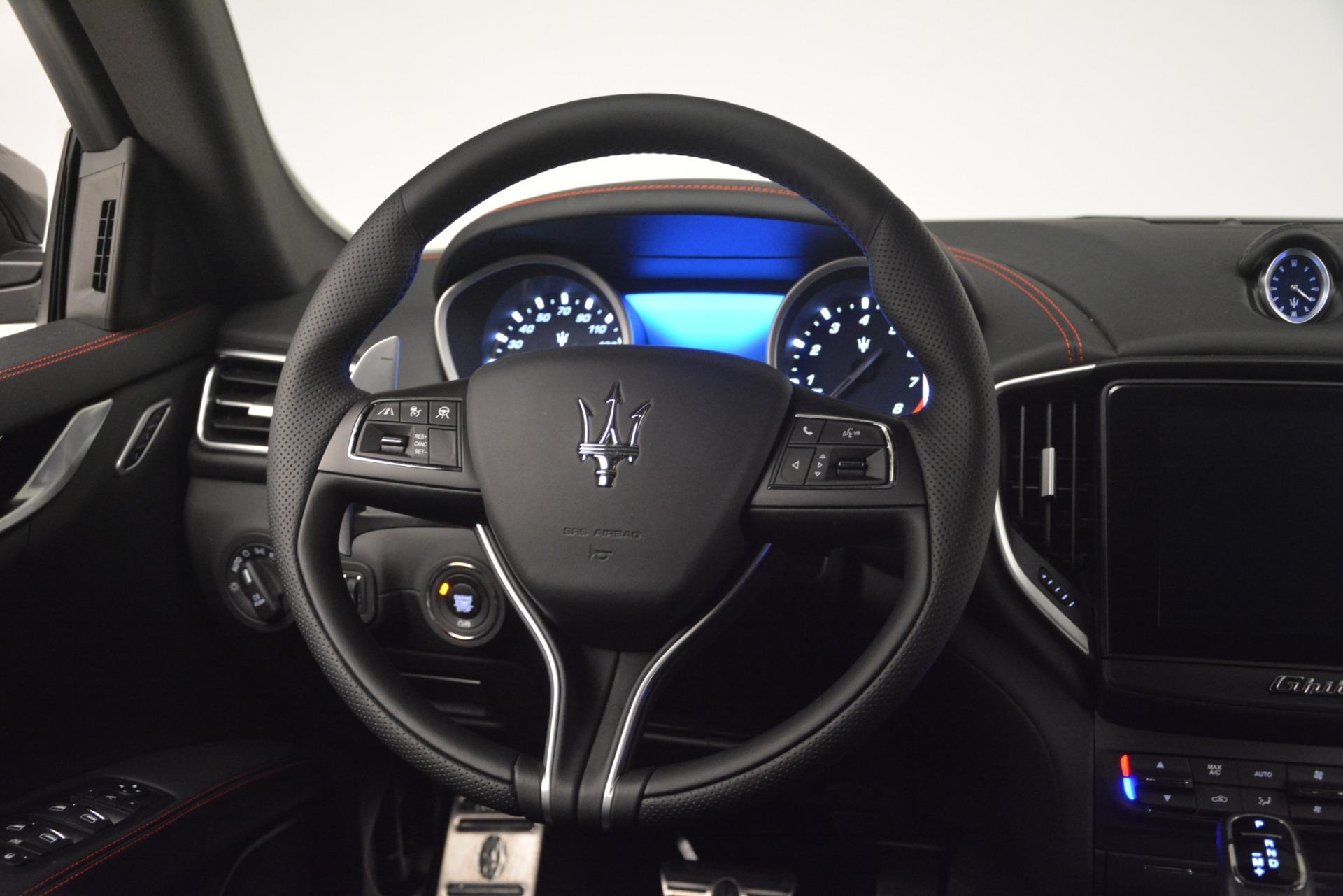 New 2019 Maserati Ghibli S Q4 GranSport For Sale In Greenwich, CT. Alfa Romeo of Greenwich, W667 2924_p17