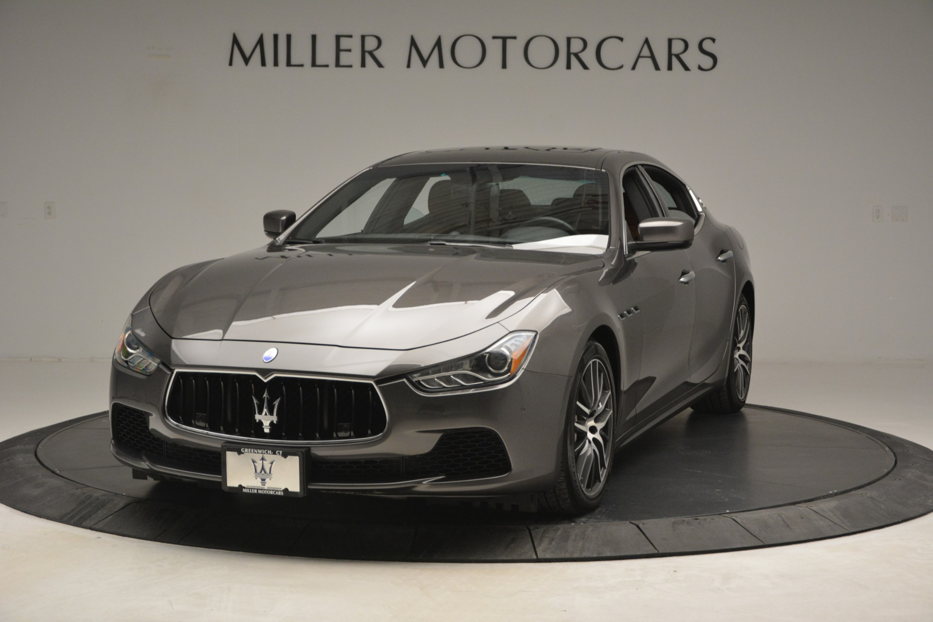 Used 2015 Maserati Ghibli S Q4 For Sale In Greenwich, CT. Alfa Romeo of Greenwich, 7483 2941_main
