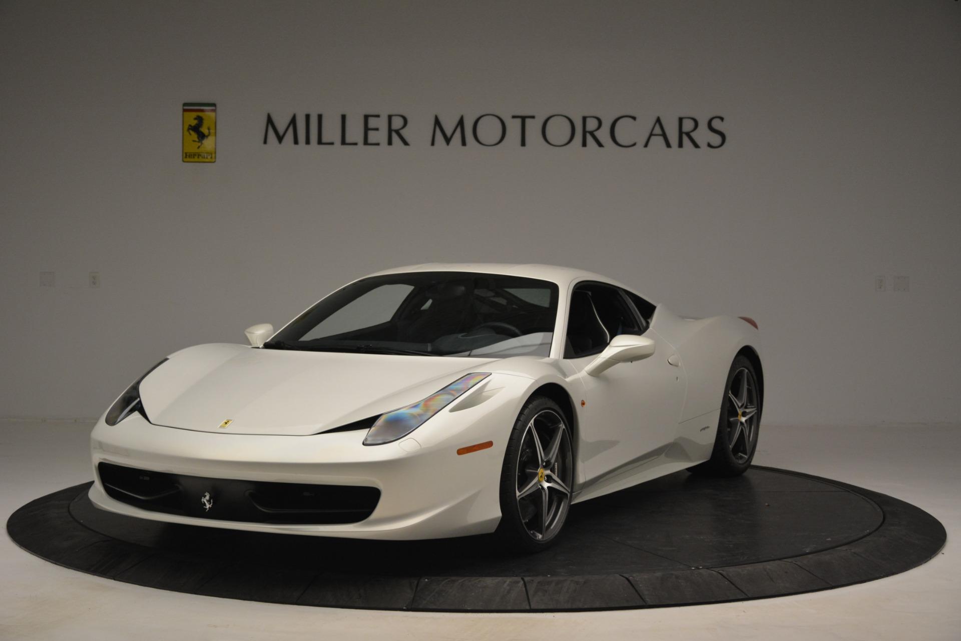 Used 2014 Ferrari 458 Italia  For Sale In Greenwich, CT. Alfa Romeo of Greenwich, 4538 2959_main
