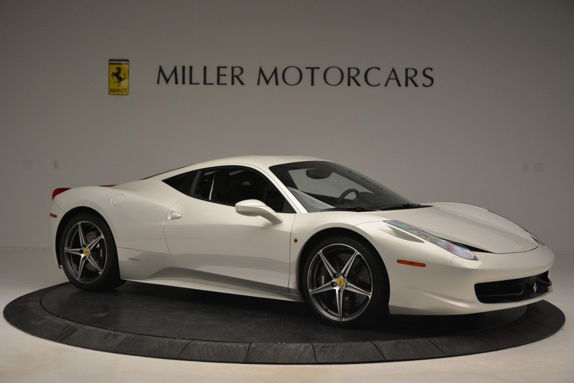 Used 2014 Ferrari 458 Italia  For Sale In Greenwich, CT. Alfa Romeo of Greenwich, 4538 2959_p10