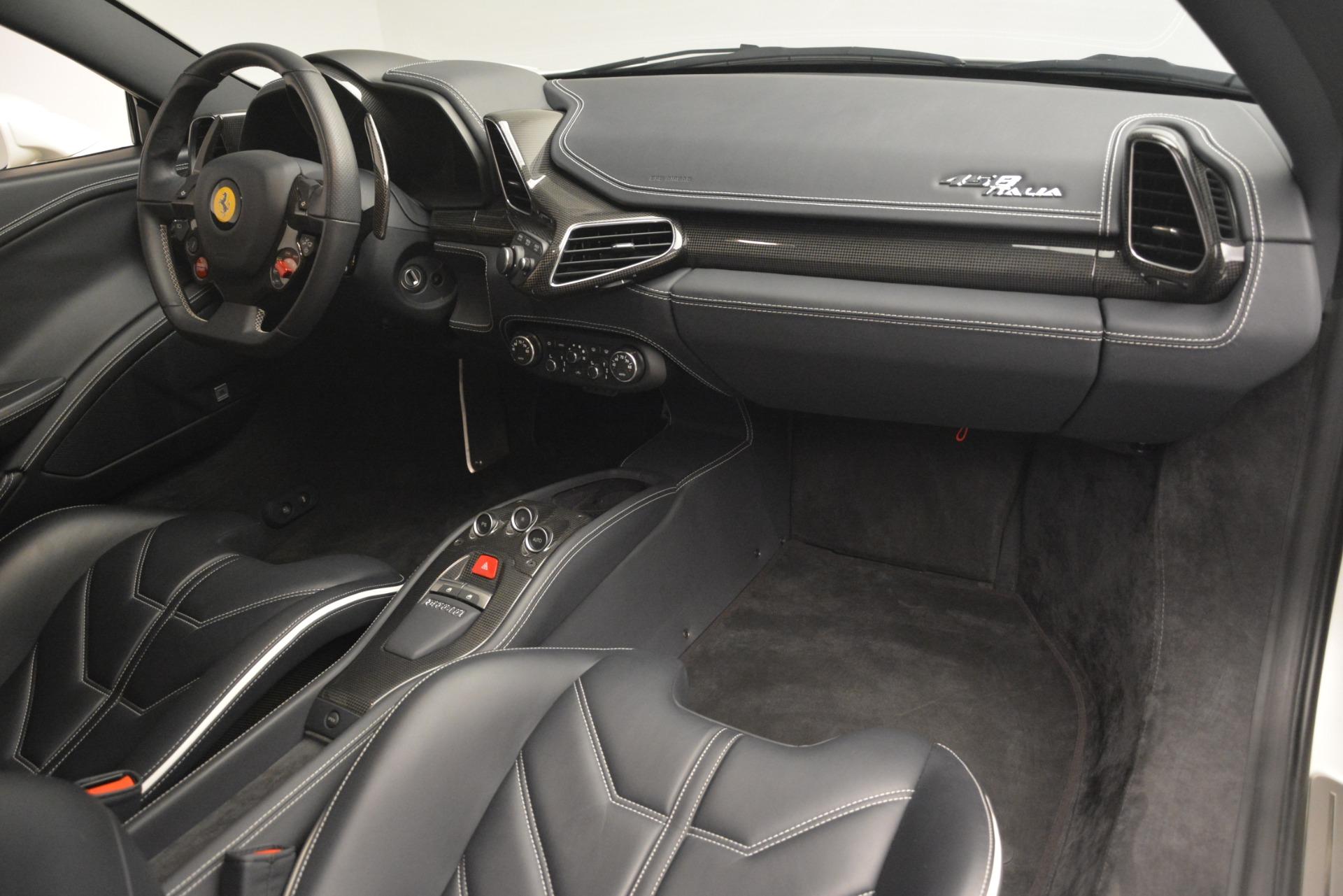 Used 2014 Ferrari 458 Italia  For Sale In Greenwich, CT. Alfa Romeo of Greenwich, 4538 2959_p17